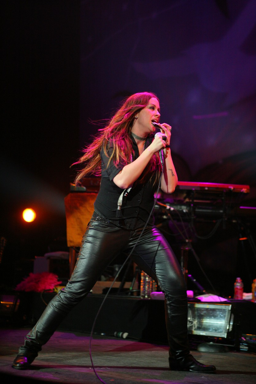 Alanis Morissette performing live at The Pearl Concert Venue in The Palms Resort & Casino in Las Vegas, Nevada on March 18, 2008.,Image: 24699571, License: Rights-managed, Restrictions: , Model Release: no, Credit line: © RD / Kabik / Retna A / Profimedia