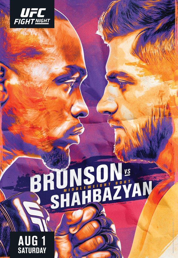 Brunson vs. Shahbazyan poster