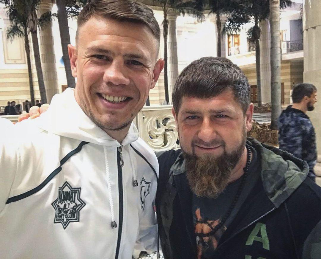 Maxim Grishin i Ramzan Khadirov