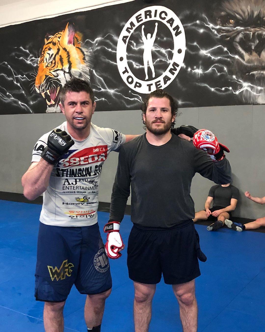 Vaso Bakočević i Francisco Barrio