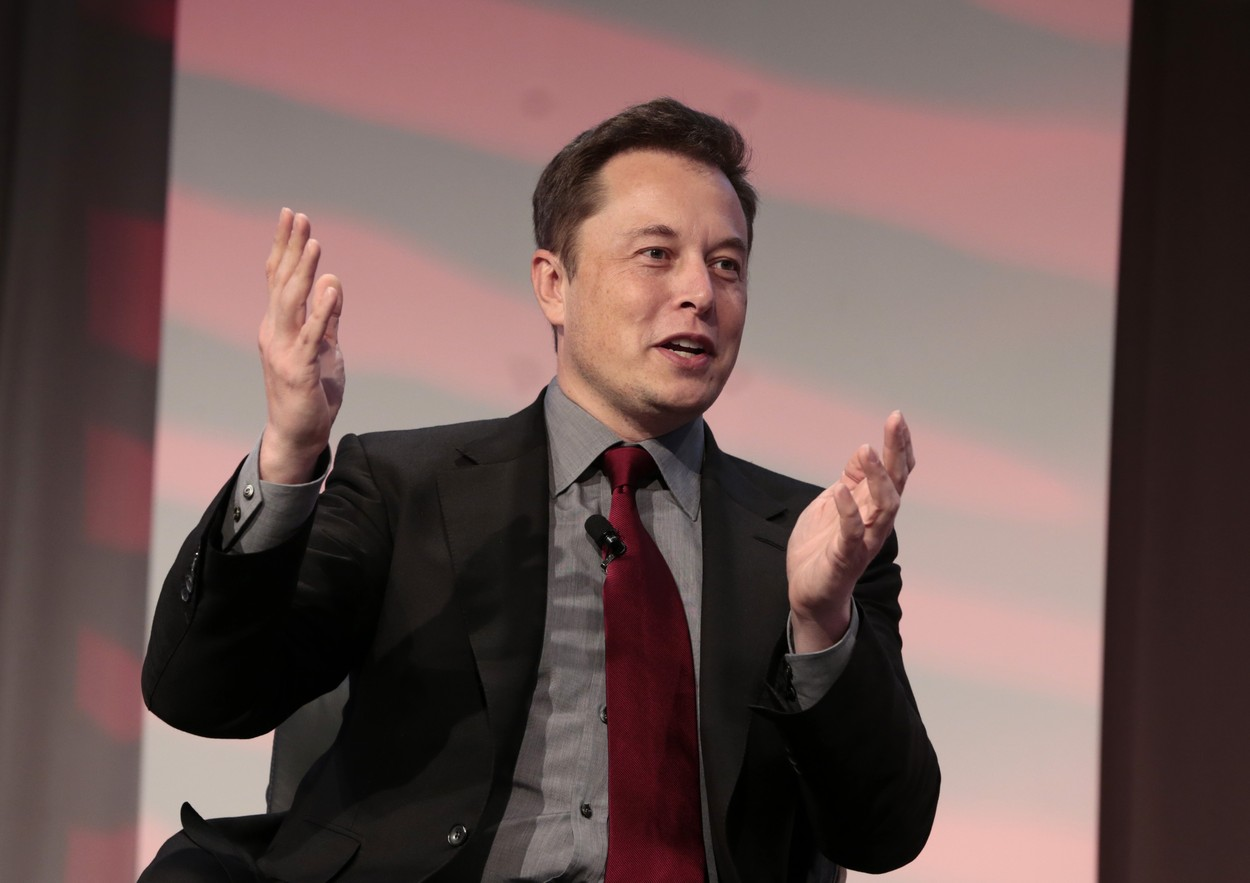 Jan. 13, 2015 - Detroit, MI, UNITED STATES - Elon Reeve Musk speaks at the Automotive News World Congress held at the Detroit Marriott in Detroit, Michigan on Tuesday, January 13, 2014. Musk is an entrepreneur, inventor, engineer and investor,Image: 215236029, License: Rights-managed, Restrictions: , Model Release: no, Credit line: Jeff Kowalsky / Zuma Press / Profimedia