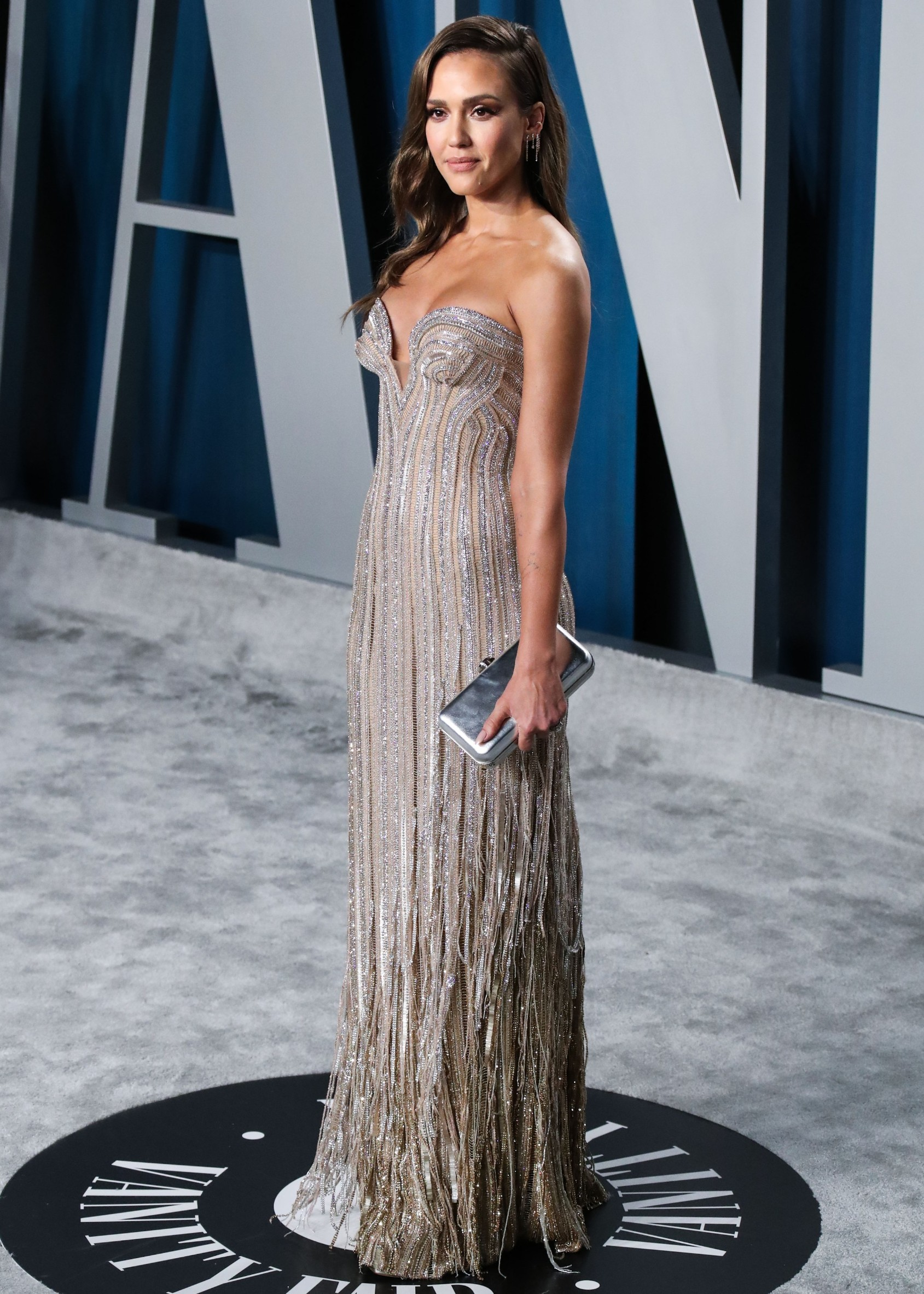 Jessica Alba arrives at the 2020 Vanity Fair Oscar Party held at the Wallis Annenberg Center for the Performing Arts on February 9, 2020 in Beverly Hills, Los Angeles, California, United States.,Image: 497703672, License: Rights-managed, Restrictions: WORLD RIGHTS - Fee Payable Upon Reproduction - For queries contact Avalon.red - sales@avalon.red London: +44 (0) 20 7421 6000 Los Angeles: +1 (310) 822 0419 Berlin: +49 (0) 30 76 212 251, Model Release: no, Credit line: Avalon.red / Avalon Editorial / Profimedia