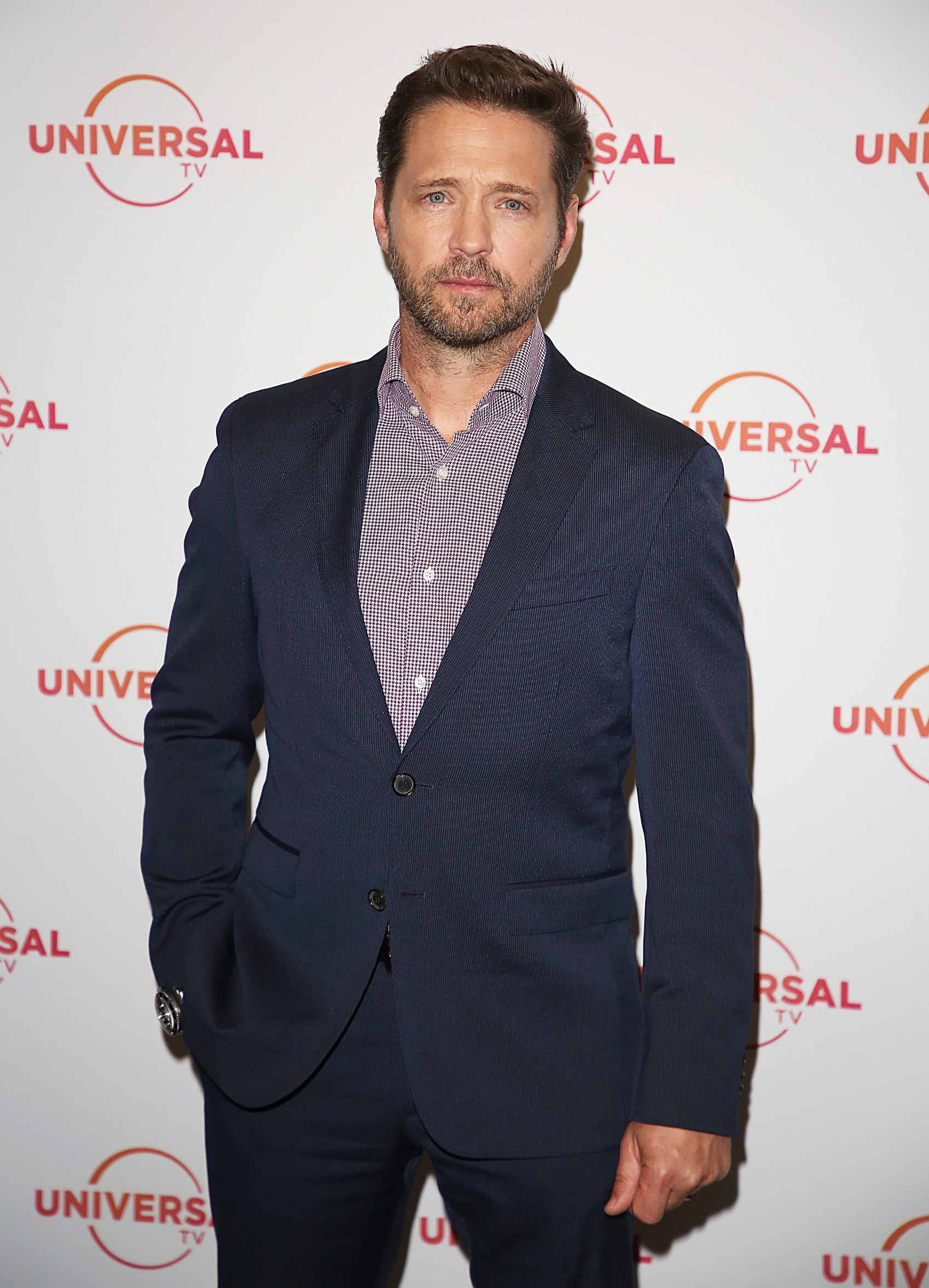 Jason Priestley 'Private Eyes' TV Series photocall, London, UK - 31 May 2018,Image: 373484879, License: Rights-managed, Restrictions: , Model Release: no, Credit line: Brett Cove/Silverhub / Shutterstock Editorial / Profimedia