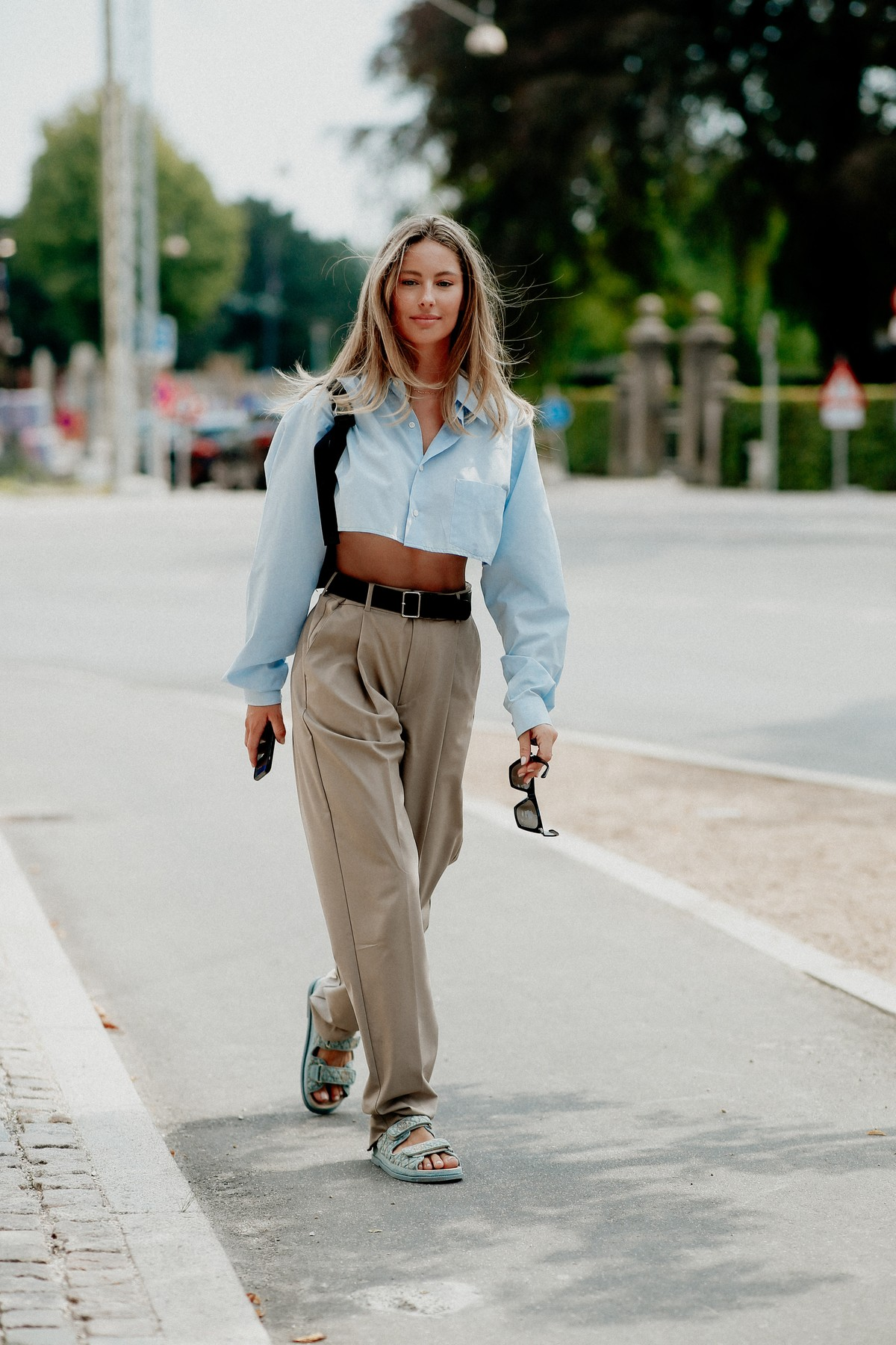 Street style, Mathilde Gohler arriving at 7 days active Spring Summer 2021 show, held at Carlsberg HQ, Copenhagen, Denmark, on August 10th, 2020.,Image: 551765613, License: Rights-managed, Restrictions: , Model Release: no, Credit line: Bertrand-Hillion Marie-Paola/ABACA / Abaca Press / Profimedia
