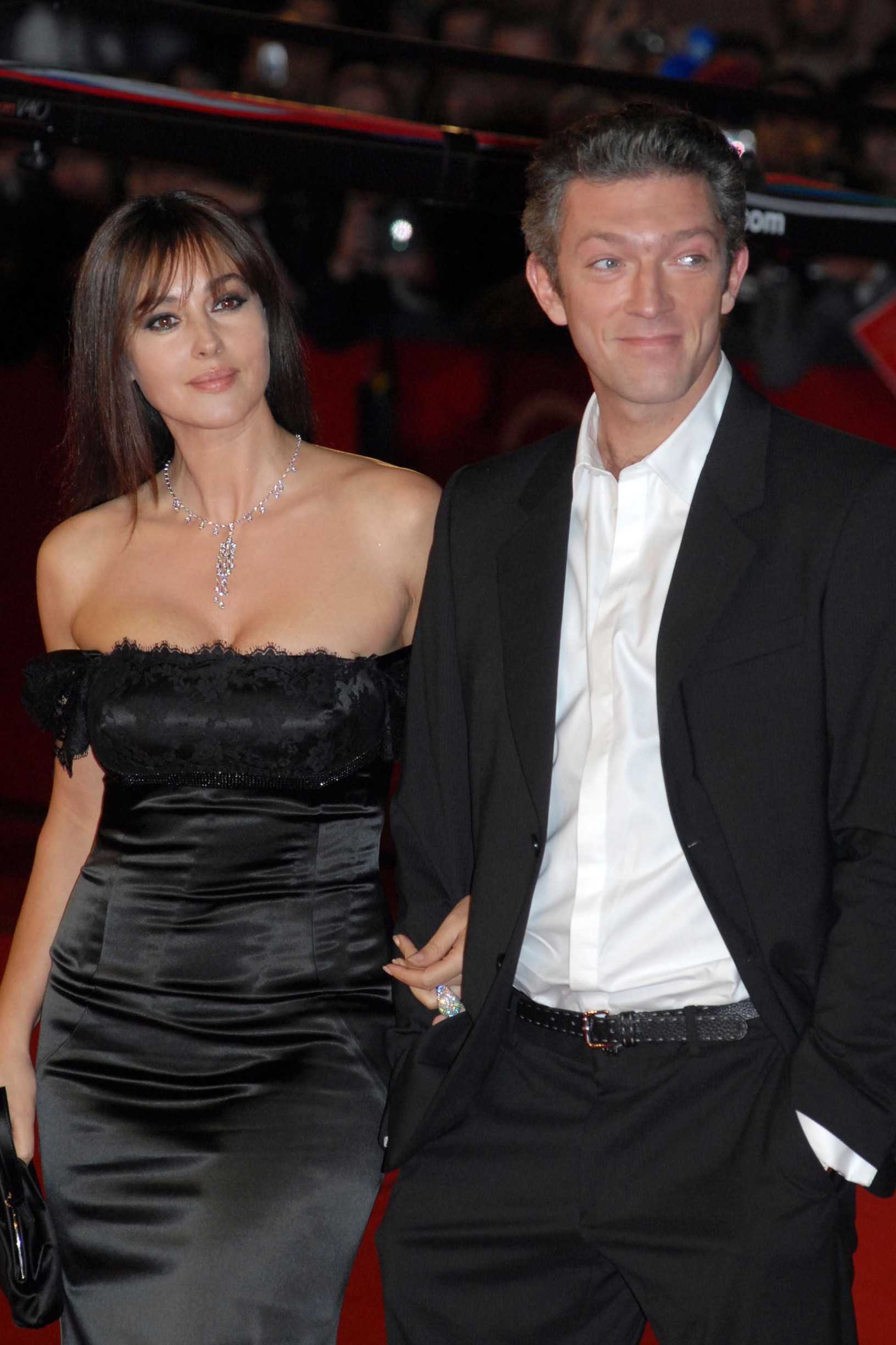 monica bellucci with her husband vincent casselroma 23-10-2008roma film festivalphoto mattoni/markanews,Image: 49151380, License: Rights-managed, Restrictions: Contributor country restriction: Worldwide, Worldwide, Worldwide, Worldwide, Worldwide, Worldwide. Contributor usage restriction: Advertising and promotion, Consumer goods, Direct mail and brochures, Indoor display, Internal business usage, Commercial electronic. Contributor media restriction: {AABA1D1E-5F99-43AC-A036-22D51B513A23}, {AABA1D1E-5F99-43AC-A036-22D51B513A23}, {AABA1D1E-5F99-43AC-A036-22D51B513A23}, {AABA1D1E-5F99-43AC-A036-22D51B513A23}, {AABA1D1E-5F99-43AC-A036-22D51B513A23}, {AABA1D1E-5F99-43AC-A036-22D51B513A23}., Model Release: no, Credit line: MARKA / Alamy / Alamy / Profimedia