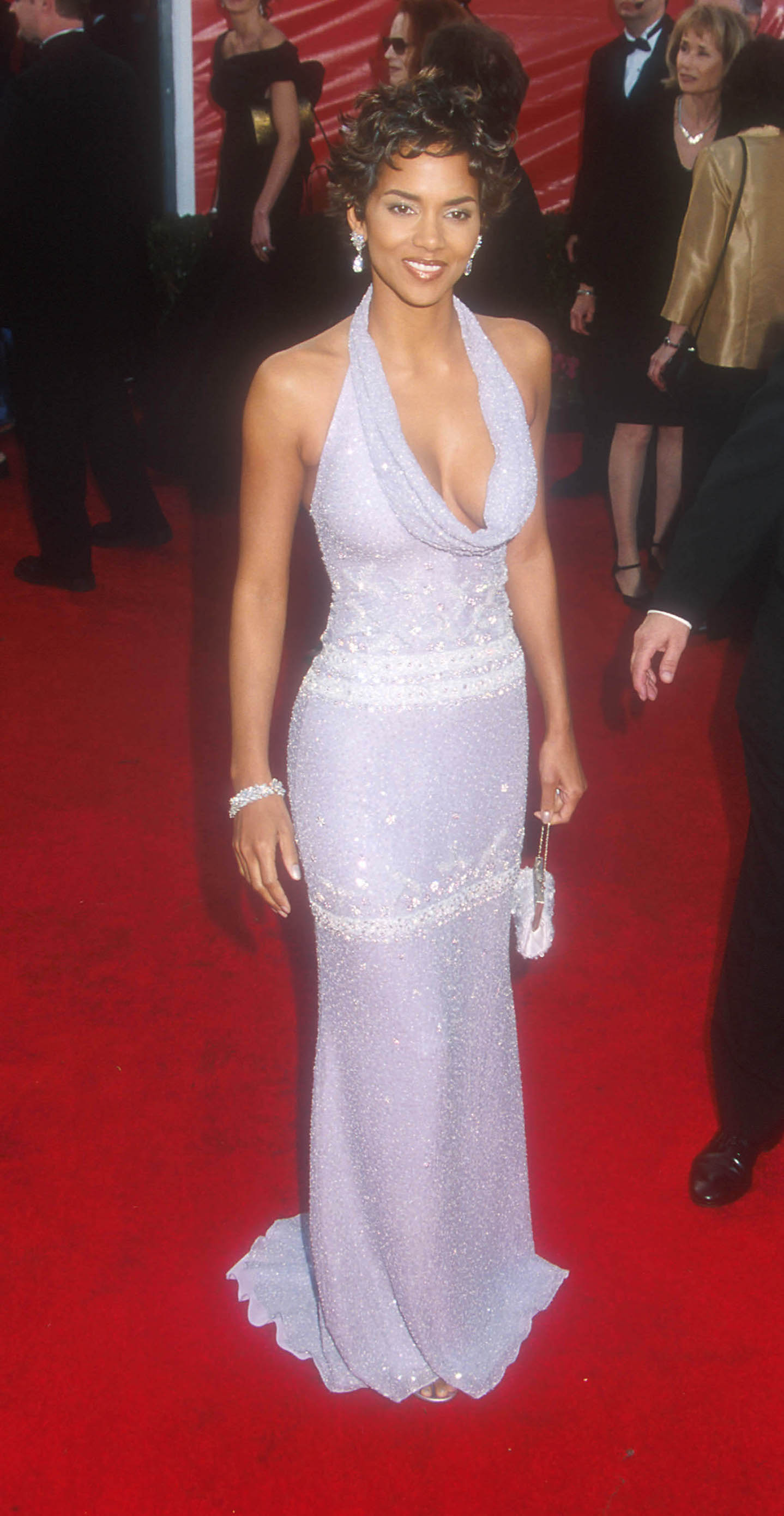 Halle Berry at the &73rd Annual Academy Awards. (CA),Image: 17946664, License: Rights-managed, Restrictions: , Model Release: no, Credit line: Russ Einhorn / StarMax / Profimedia