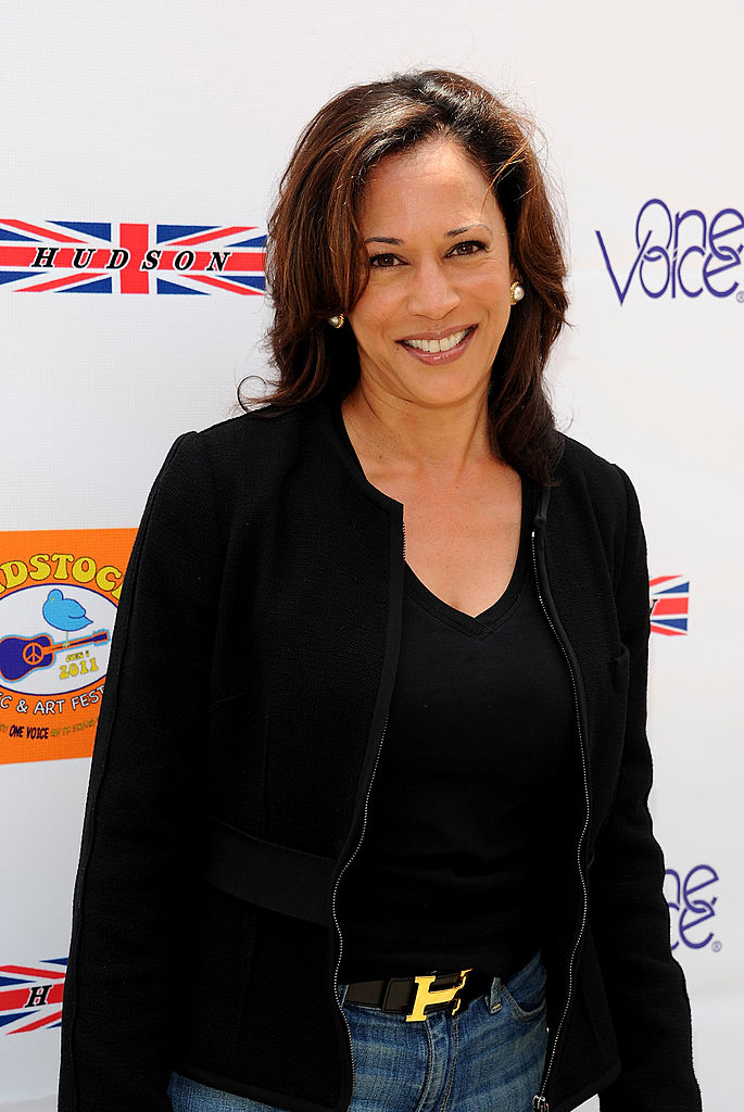 BEVERLY HILLS, CA - JUNE 05:  Attorney General Kamala Harris arrives at the 5th Annual Kidstock To Benefit One Voice Scholars Program sponsored by Hudson Jeans at Greystone Mansion on June 5, 2011 in Beverly Hills, California.  (Photo by Michael Kovac/Getty Images for One Voice)