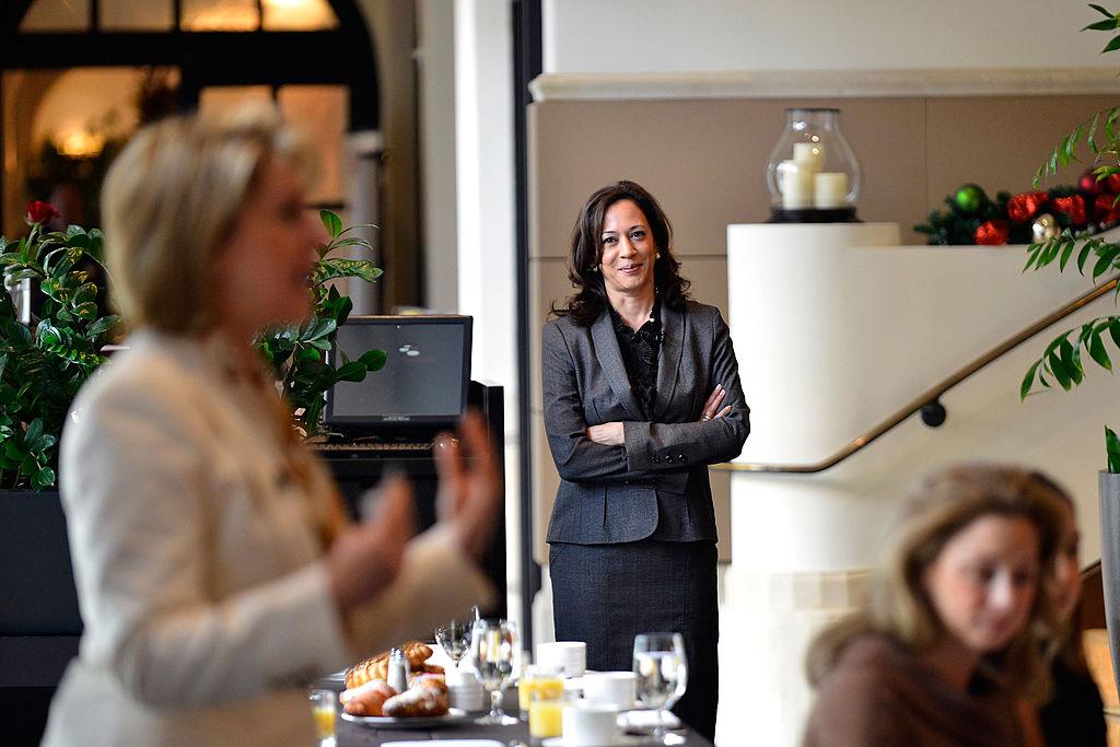 LOS ANGELES, CA - DECEMBER 13:  California Attorney General Kamala Harris attends TheWrap's