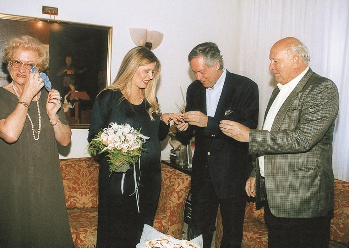 Josip Radeljak i Ena Begovic vjencanje 2000. Gloria 285 foto: Ines Stipetic