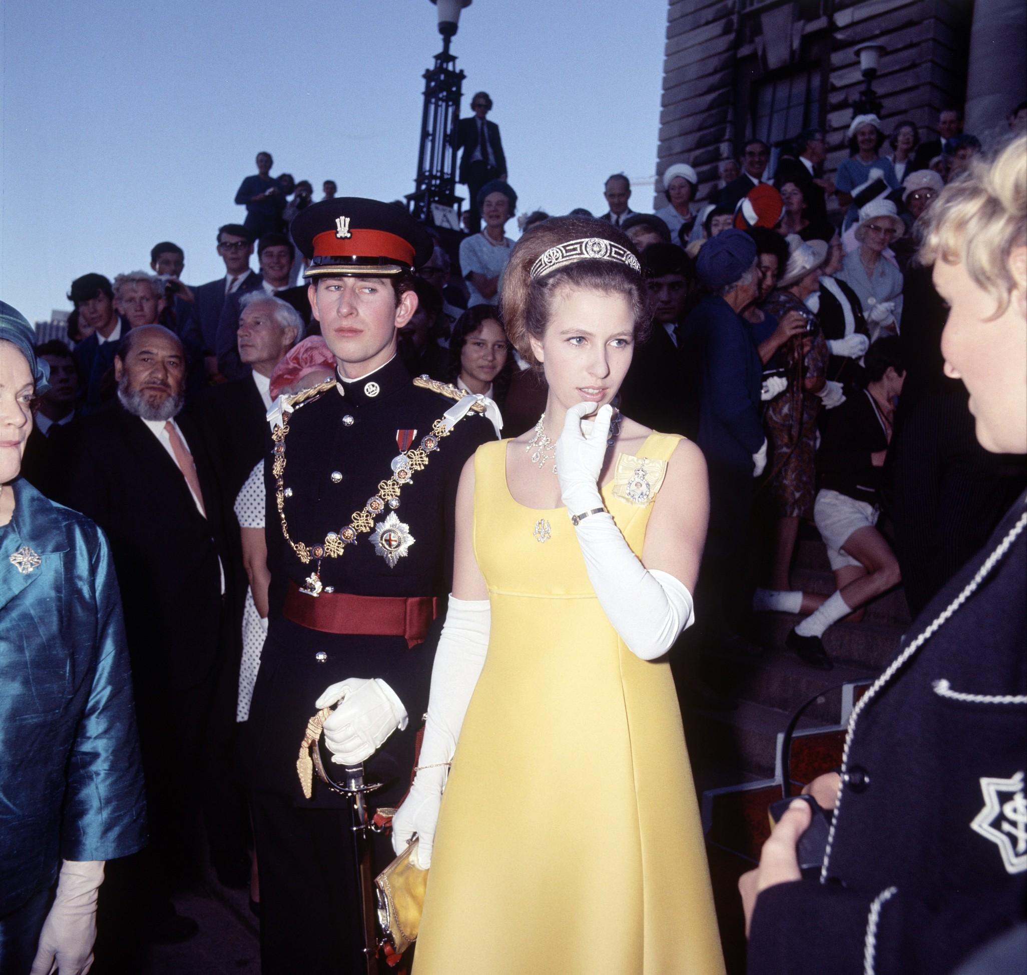 Prince Charles and Princess Anne, Wellington, New Zealand Princess Anne,Image: 229349221, License: Rights-managed, Restrictions: , Model Release: no, Credit line: Reginald Davis / Shutterstock Editorial / Profimedia