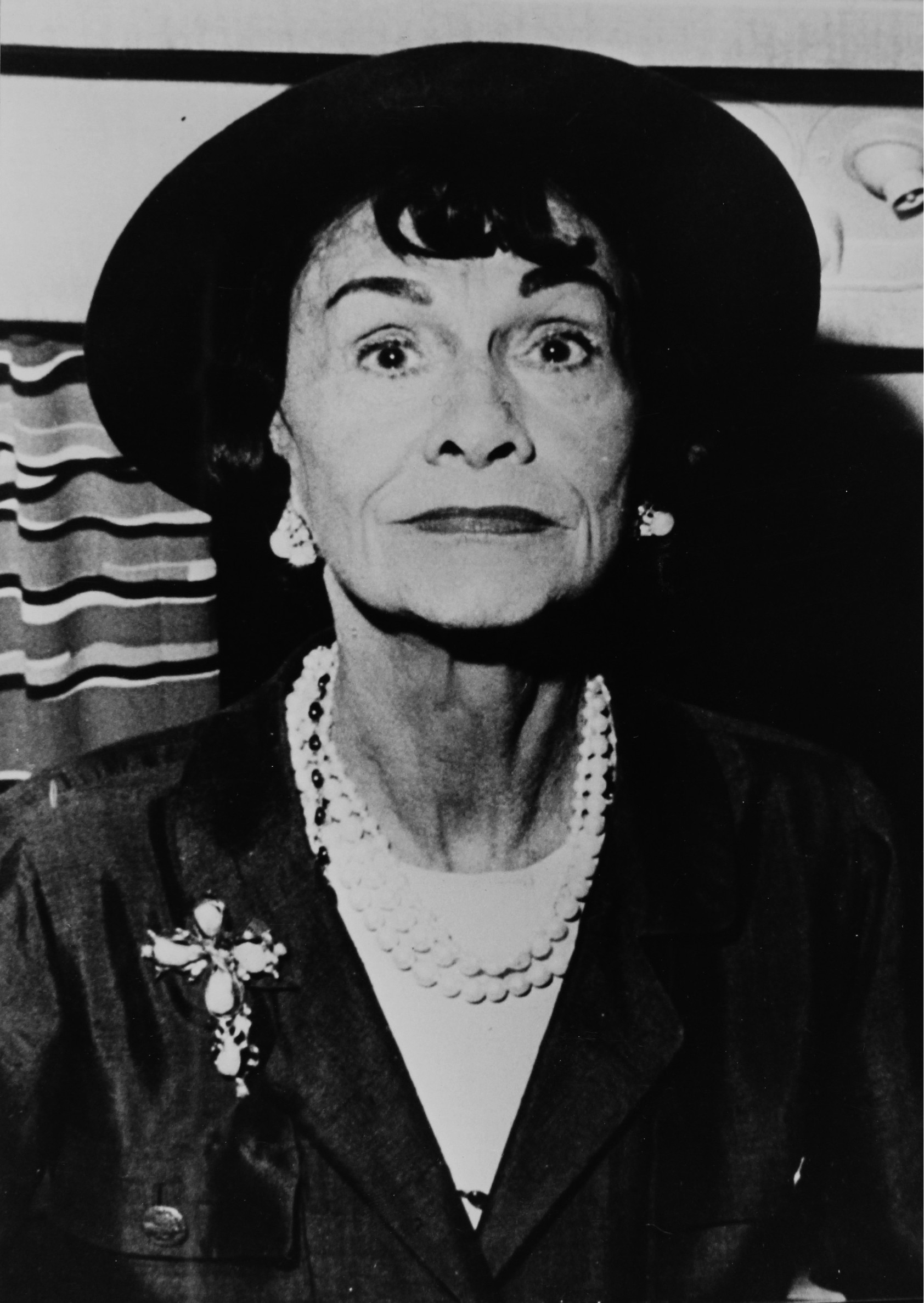 The French fashion designer Coco Chanel. About 1965. Photograph.,Image: 252260999, License: Rights-managed, Restrictions: , Model Release: no, Credit line: - / Imagno / Profimedia