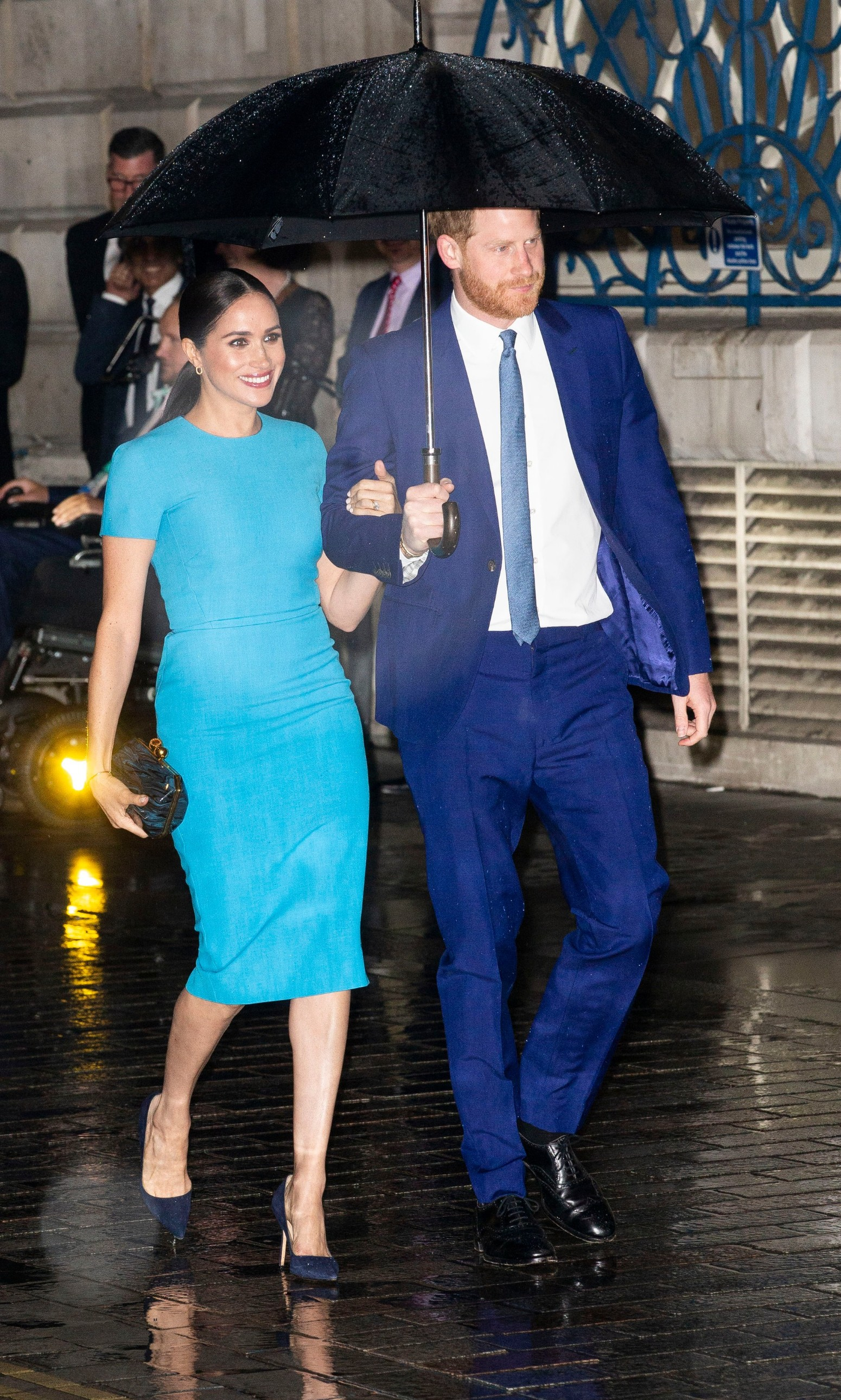 5 March 2020.  Prince Harry, The Duke of Sussex, Meghan, The Duchess of Sussex will attend the annual Endeavour Fund Awards at Mansion House on Thursday 5th March. Their Royal Highnesses will celebrate the achievements of wounded, injured and sick servicemen and women who have taken part in remarkable sporting and adventure challenges over the last year.,Image: 503581591, License: Rights-managed, Restrictions: , Model Release: no, Credit line: GoffPhotos.com / Goff Photos / Profimedia