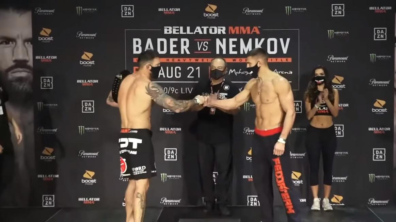 Ryan Bader i Vadim Nemkov