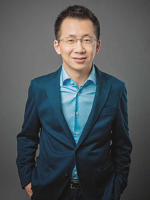 Zhang Yiming, founder and CEO of tech company Bytedance, owner of Chinese personalized news aggregator Jinri Toutiao and short video platform TikTok (Douyin), poses for a portrait in Beijing, China, 29 January 2018.  ByteDance founder and CEO Zhang Yiming ranks the 10th on 2019 Forbes China Rich List.,Image: 482977057, License: Rights-managed, Restrictions: , Model Release: no, Credit line: Stringer / ChinaImages / Profimedia