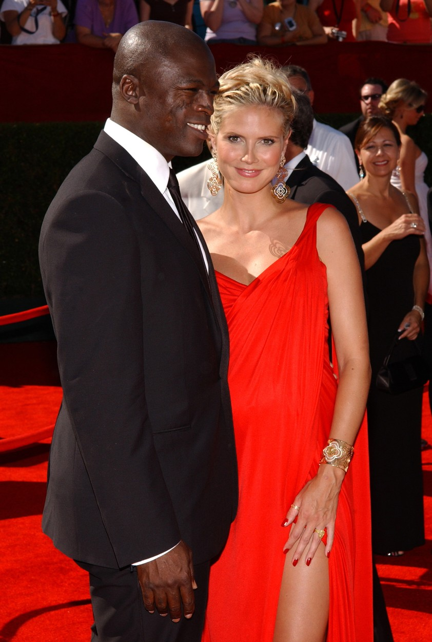 Aug. 31, 2002 - Los Angeles, CA, USA - Heidi Klum and Seal arrive at the 58th Annual Primetime Emmy Awards at the Shrine Auditorium in Los Angeles, California, Sunday, August 27, 2006. (Lionel Hahn/Abaca Press/MCT),Image: 212216672, License: Rights-managed, Restrictions: , Model Release: no, Credit line: Lionel Hahn / Zuma Press / Profimedia