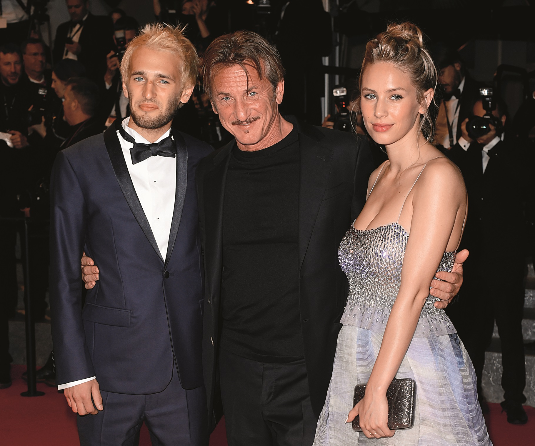 /Hopper Jack Penn, Sean Penn and Dylan Penn 'The Last Face' premiere, 69th Cannes Film Festival, France - 20 May 2016,Image: 286213526, License: Rights-managed, Restrictions: , Model Release: no, Credit line: David Fisher / Shutterstock Editorial / Profimedia