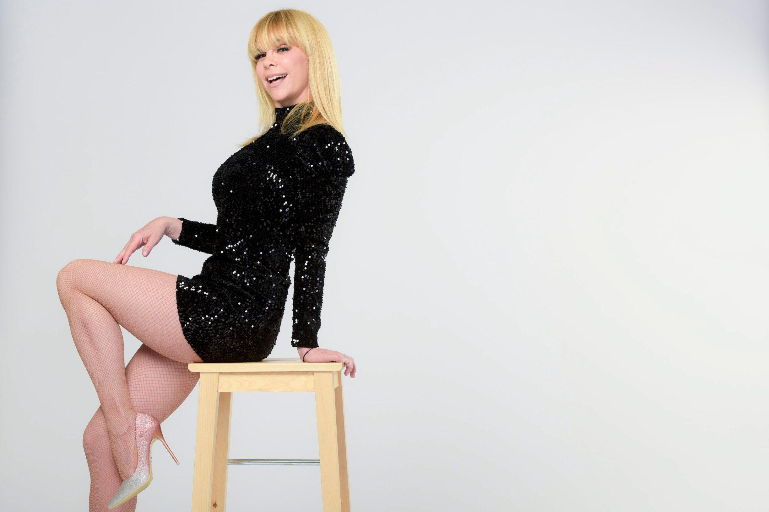 Zagreb, 080419. Koranska 2. Mila Elegovic, filmska i kazalisna glumica. Foto: Darko Tomas / CROPIX