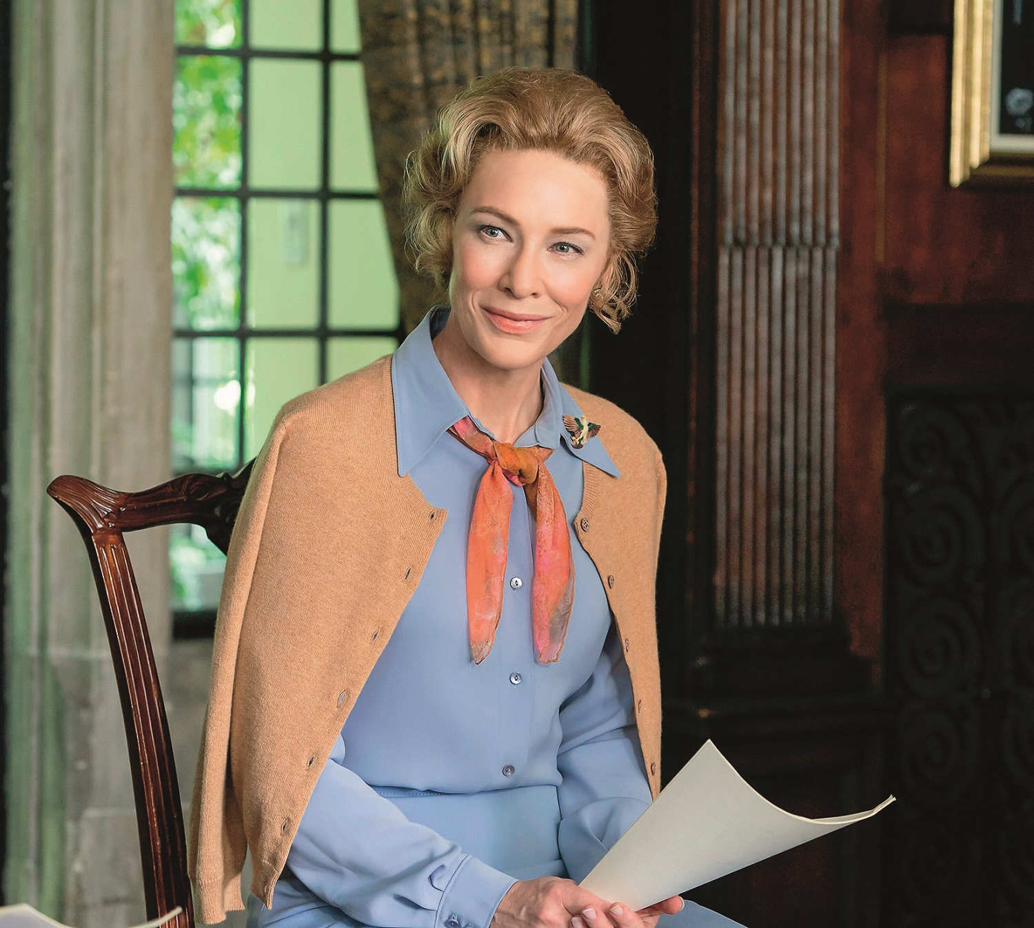 MRS. AMERICA, Cate Blanchett (as Phyllis Schlafly), 'Gloria', (Season 1, ep. 102, aired April 15, 2020). photo: Sabrina Lantos / ©FX / courtesy Everett Collection