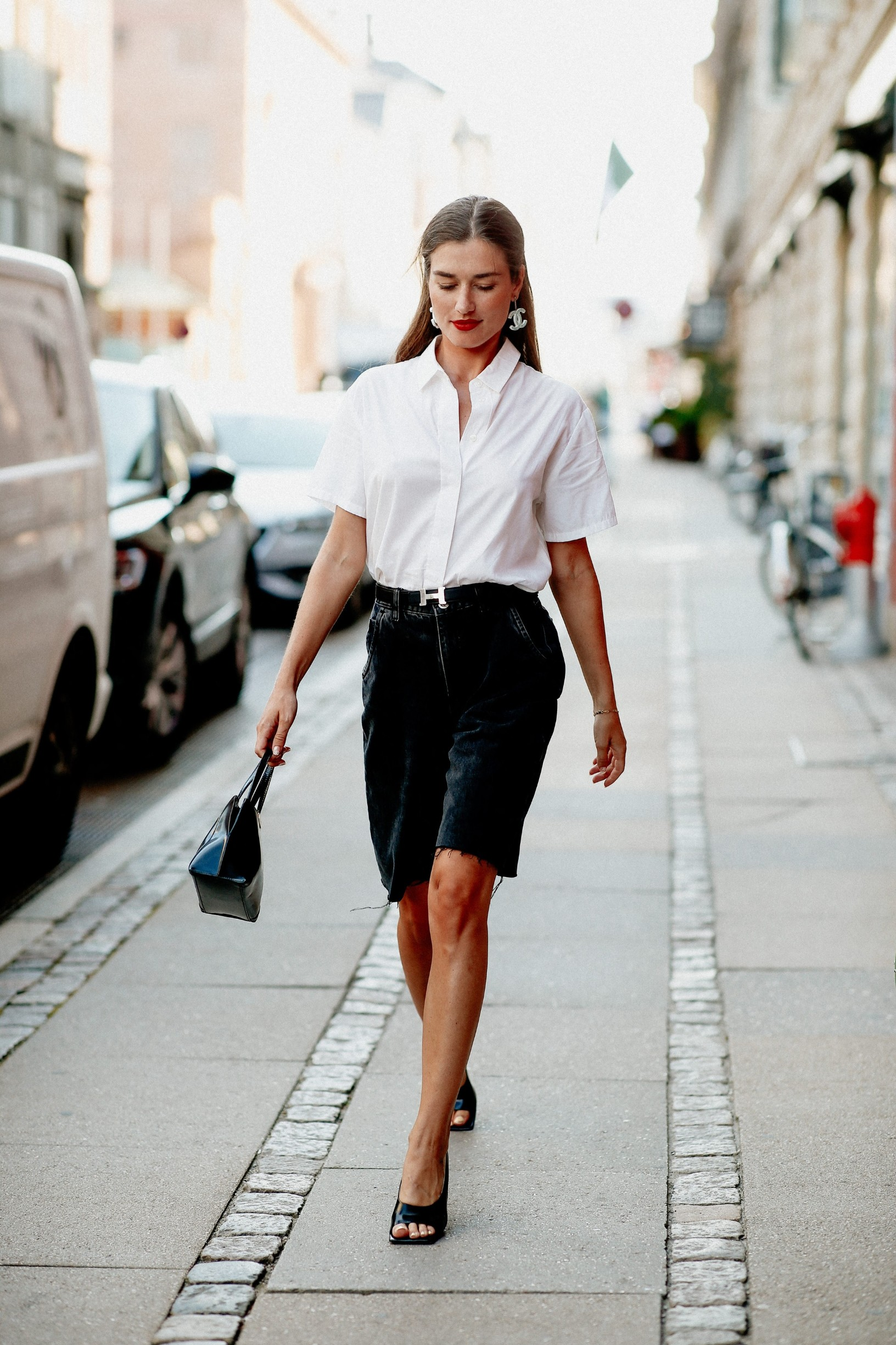 Street style, Ilirida Krasniqi arriving at Selected Spring Summer 2021 show, held at Bredgade, Copenhagen, Denmark, on August 12, 2020.,Image: 554929995, License: Rights-managed, Restrictions: , Model Release: no, Credit line: Bertrand-Hillion Marie-Paola/ABACA / Abaca Press / Profimedia
