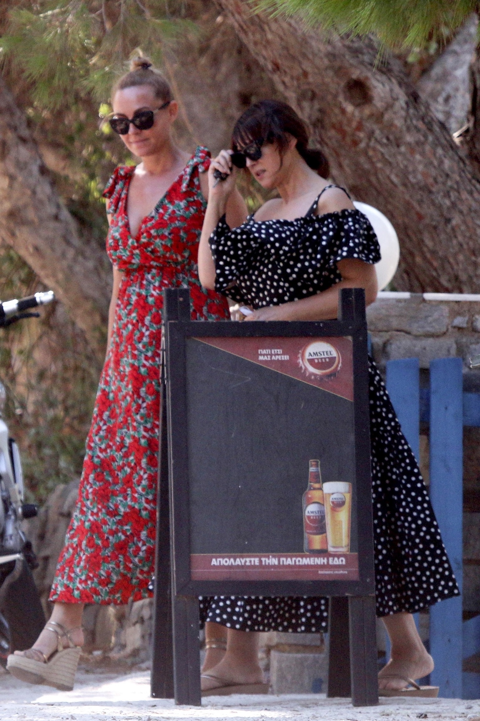 Paros, GREECE  - *EXCLUSIVE*  - Italian actress and model Monica Bellucci is enjoying her summer vacation break in Paros Islands, Greece.  BACKGRID USA 3 AUGUST 2020,Image: 549532421, License: Rights-managed, Restrictions: RIGHTS: WORLDWIDE EXCEPT IN GREECE, Model Release: no, Credit line: karabatsispavlos / BACKGRID / Backgrid USA / Profimedia
