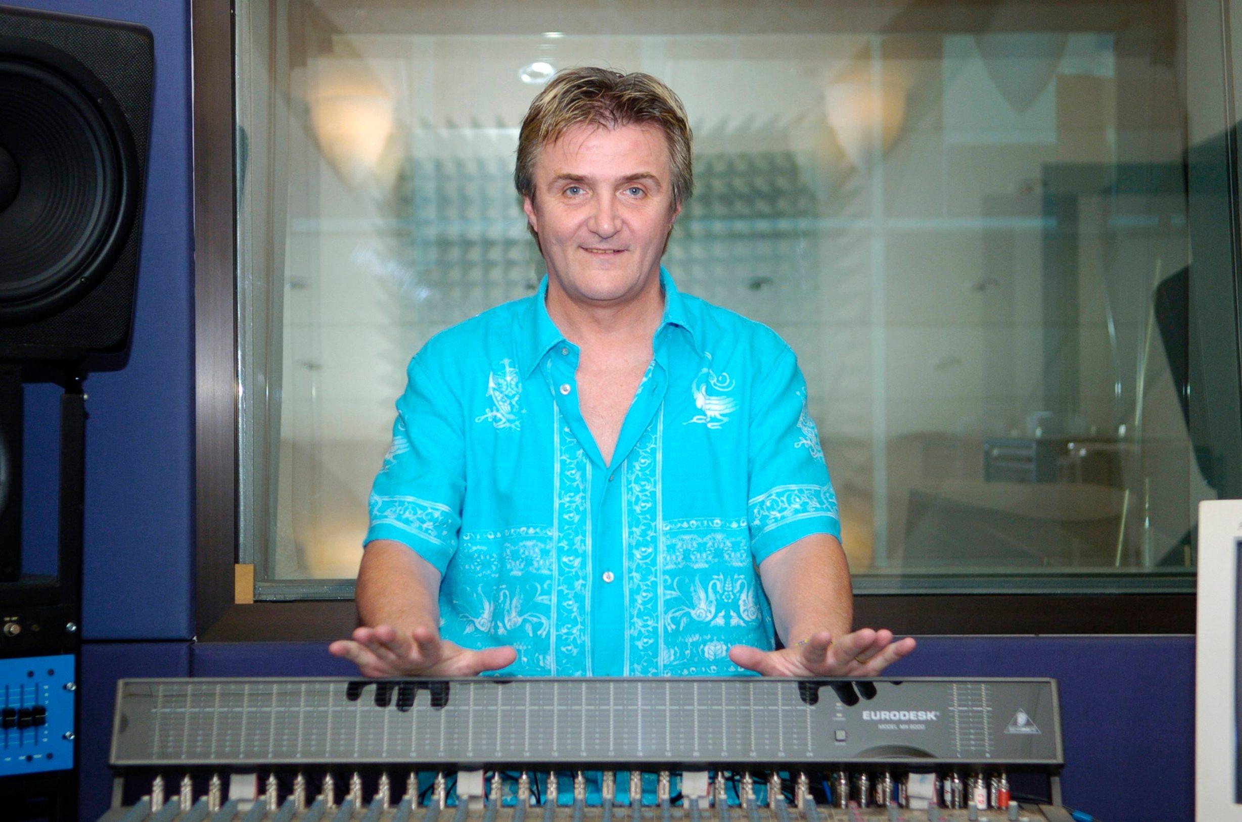zagreb, 080705 rajko dujmic u studiju truli snimio goran mehkek -studio-