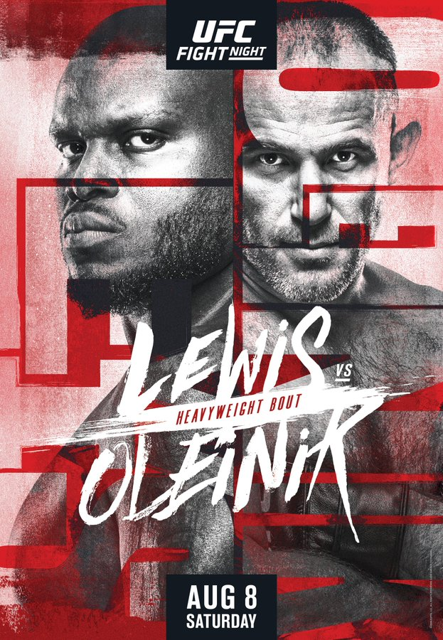 Lewis vs. Oleinik poster
