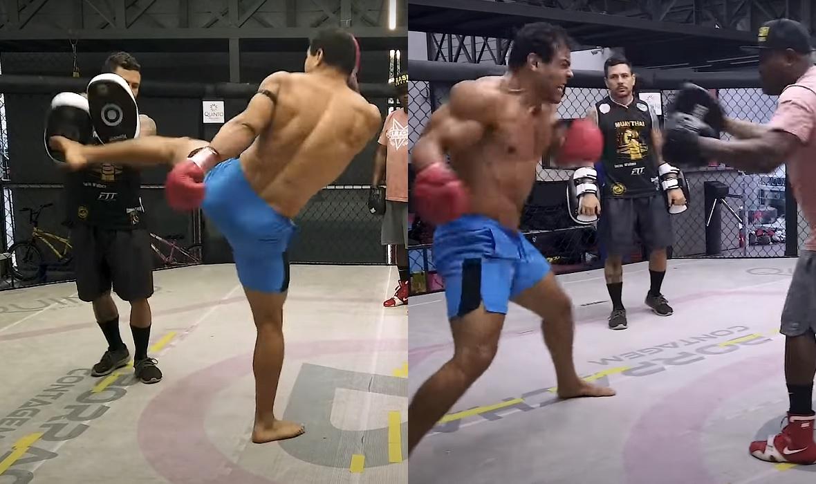 Paulo Costa trening