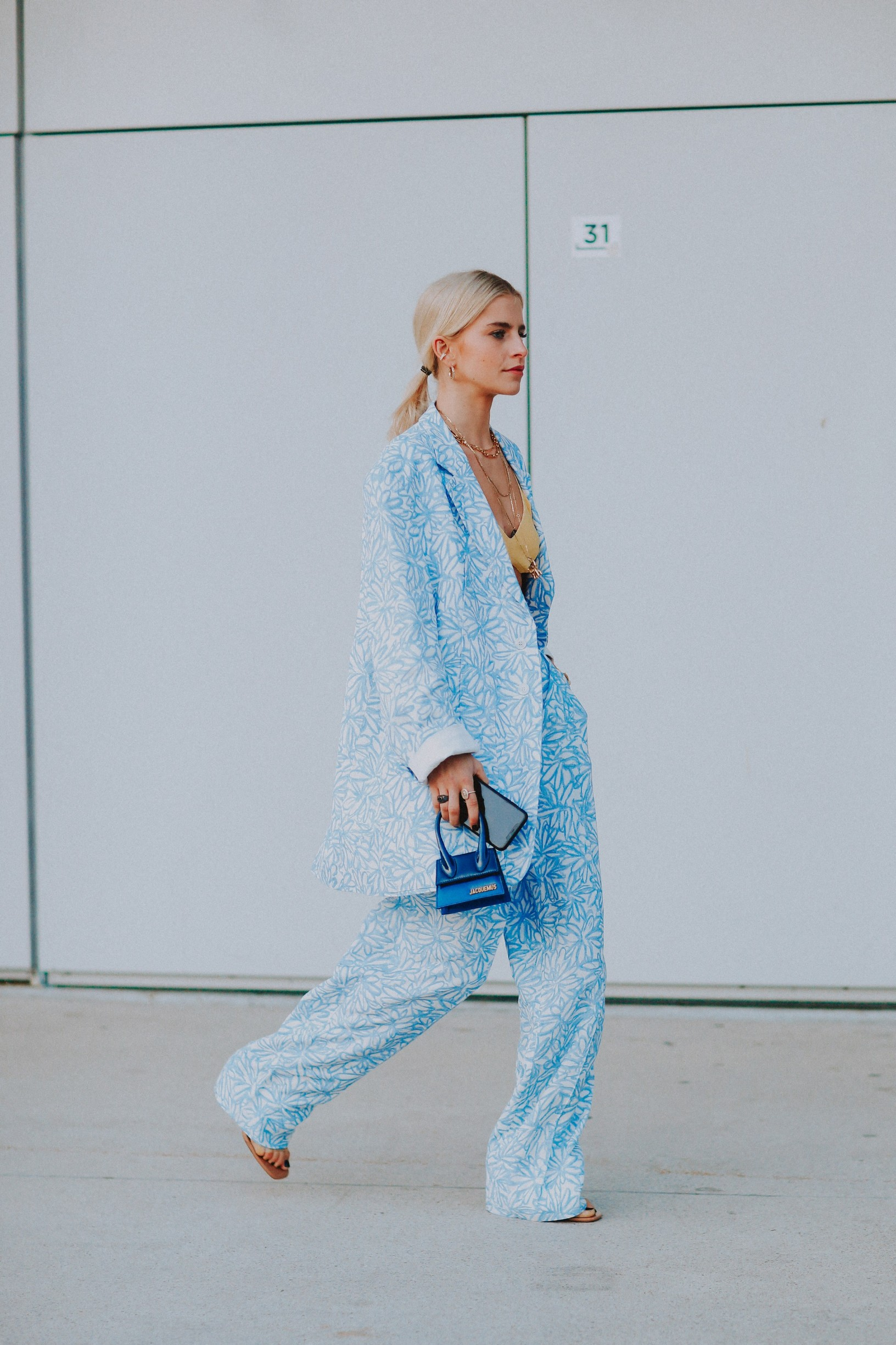 Street style, Caroline Daur arriving at Jacquemus Fall-Winter 2020-2021 show, held at La Defense Arena, Paris, France, on January 18th, 2020.,Image: 493571835, License: Rights-managed, Restrictions: , Model Release: no, Credit line: Bertrand-Hillion Marie-Paola/ABACA / Abaca Press / Profimedia