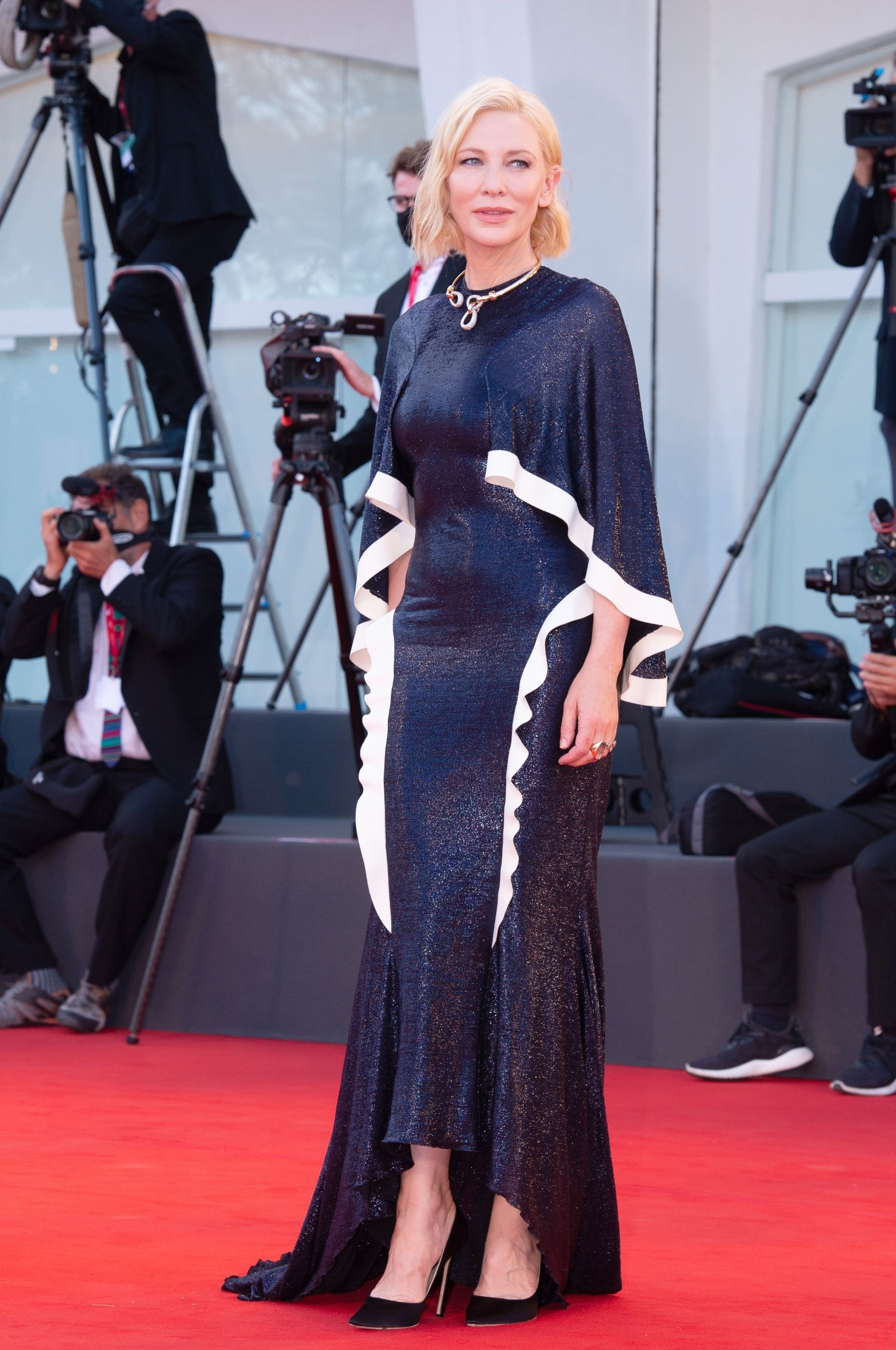 Cate Blanchett 'The Ties' premiere and Golden Lion for Lifetime Achievement Ceremony, 77th Venice International Film Festival, Italy - 02 Sep 2020,Image: 555903387, License: Rights-managed, Restrictions: , Model Release: no, Credit line: Ron Crusow/imageSPACE / Shutterstock Editorial / Profimedia
