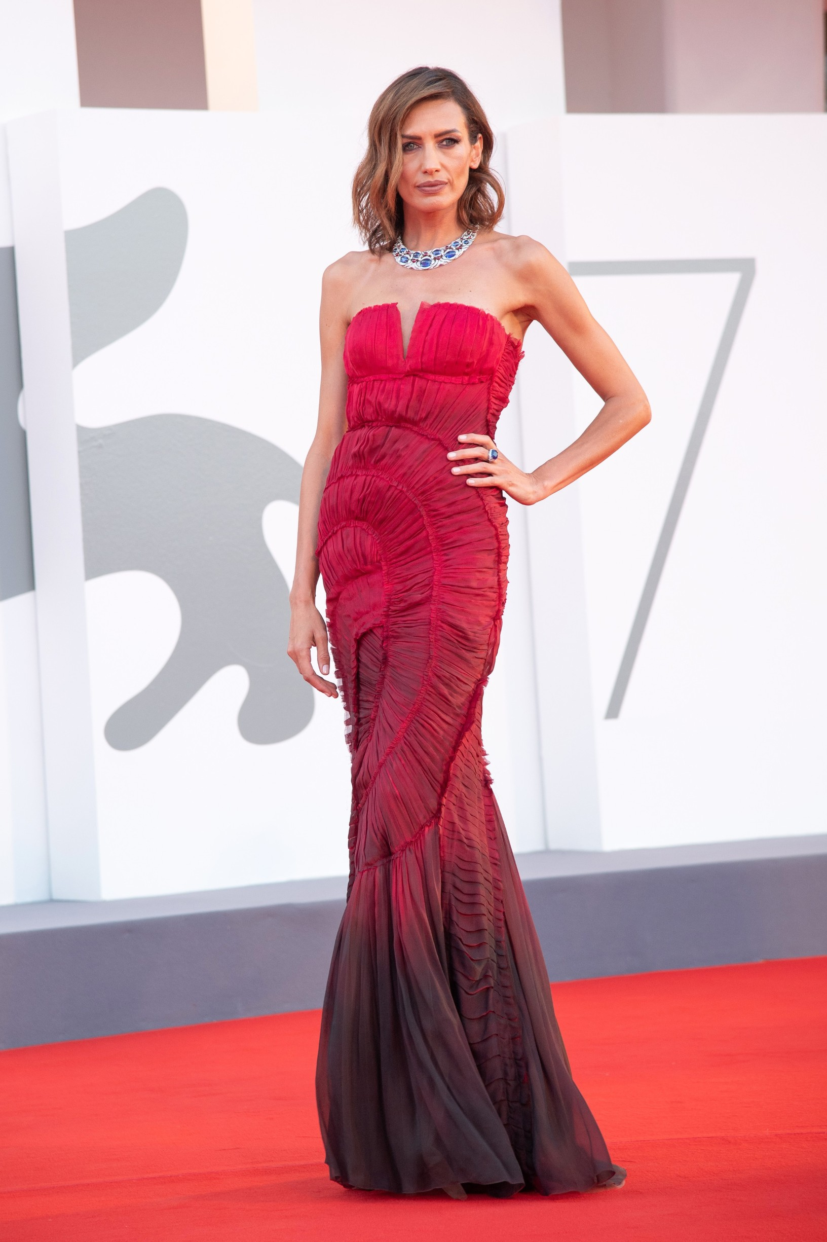September 5, 2020, Venice, Italy: Nieves Alvarez, Padrenostro Premiere, 77th Venice Film Festival in Venice, Italy on September 04, 2020. Photo by Ron Crusow,Image: 556351455, License: Rights-managed, Restrictions: , Model Release: no, Credit line: Imagespace / Zuma Press / Profimedia