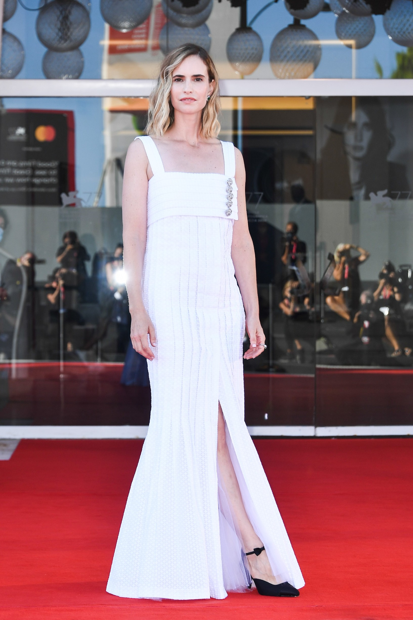 Naama Preis  77th Venice Film Festival Red Carpet of the movie -Laila in Haifa- Venice, Italy 8th September 2020,Image: 556955606, License: Rights-managed, Restrictions: , Model Release: no, Credit line: - / SGP / Profimedia