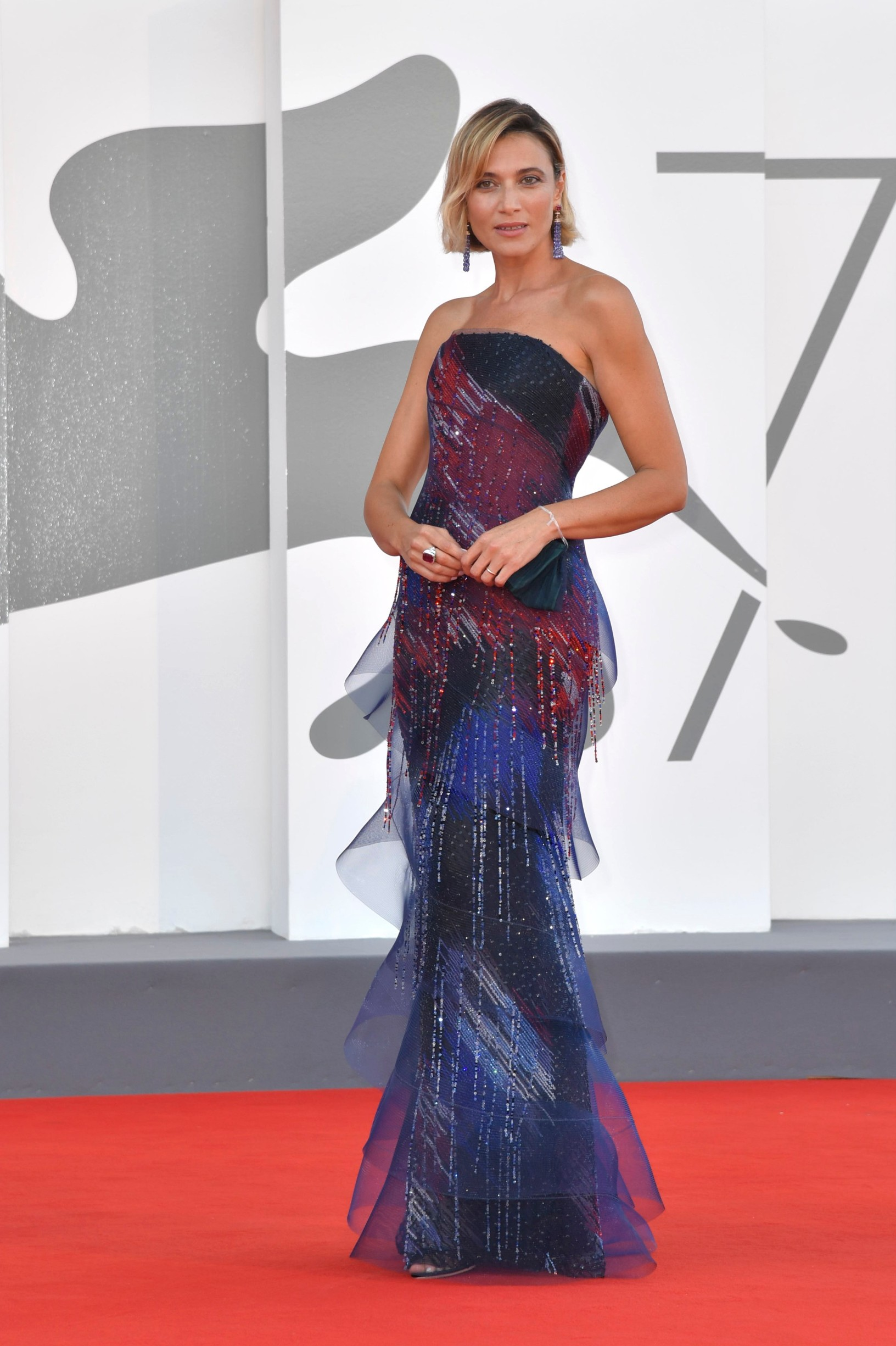 September 13, 2020, Venice, Italy: Anna Foglietta, Closing Carpet, 77th Venice International Film Festival, Venice, Italy, September 12, 2020. Photo by Ron Crusow/imageSPACE,Image: 557701177, License: Rights-managed, Restrictions: , Model Release: no, Credit line: Imagespace / Zuma Press / Profimedia