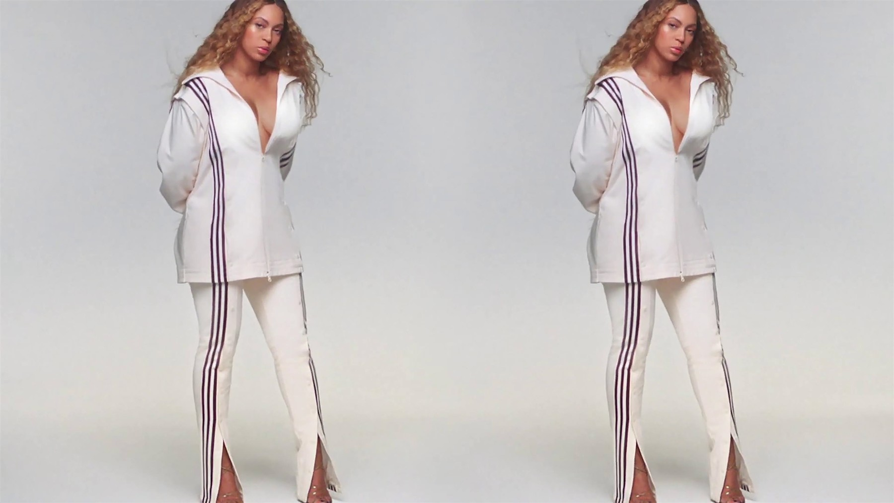 Los Angeles,   - Beyonce releases her commericial for the new Ivy Park x Adidas collaboration after cutting ties with Topshop      ---------           *  *UK Clients - Pictures Containing Children Please Pixelate Face Prior To Publication*,Image: 491782325, License: Rights-managed, Restrictions: RIGHTS: WORLDWIDE EXCEPT IN UNITED STATES, Model Release: no, Credit line: BACKGRID / Backgrid UK / Profimedia