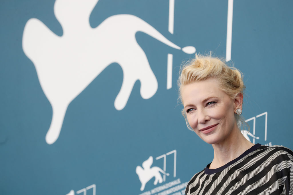 VENICE, ITALY - SEPTEMBER 02: Venezia77 Jury President Cate Blanchett attends the photocall at the 77th Venice Film Festival on September 02, 2020 in Venice, Italy. (Photo by Vittorio Zunino Celotto/Getty Images)