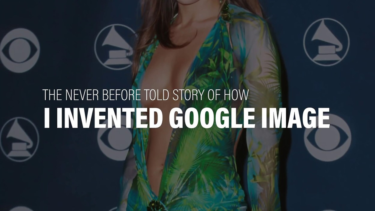 BGUK_1557127 - ** RIGHTS: WORLDWIDE EXCEPT IN UNITED STATES ** Los Angeles,   - Jennifer Lopez tells how her iconic green jungle print Versace gown with plunging neckline helped create Google Image.  J-lo tells her Youtube audience