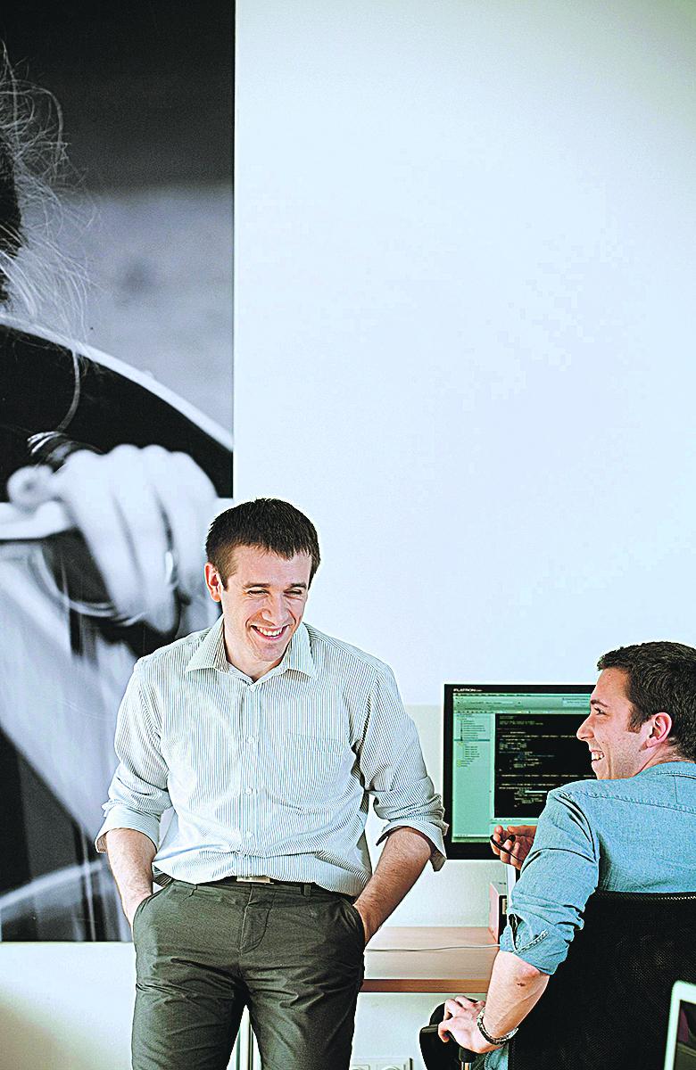 Zagreb, 070613. Tomislav Car, tvrtka Infinum se bavi softwareom za mobilne telefone. Foto: Sandra Simunovic / CROPIX