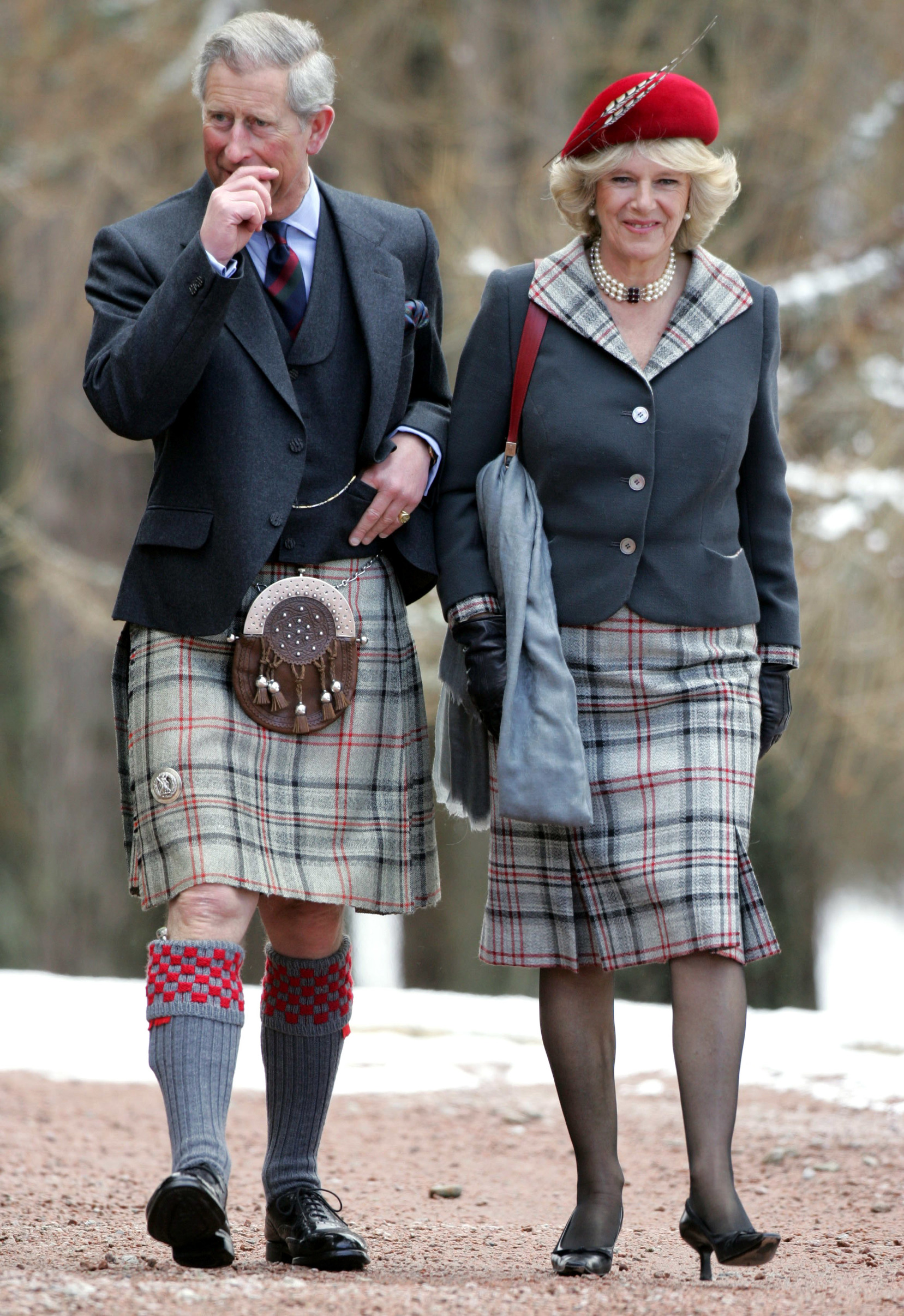 Prince Charles and Camilla, Duchess of Cornwall PRINCE CHARLES AND CAMILLA, DUCHESS OF CORNWALL AT CRATHIE CHURCH ON THE FIRST ANNIVERSARY OF THEIR WEDDING, SCOTLAND, BRITAIN - 09 APR 2006,Image: 223654079, License: Rights-managed, Restrictions: , Model Release: no, Credit line: Tim Rooke / Shutterstock Editorial / Profimedia