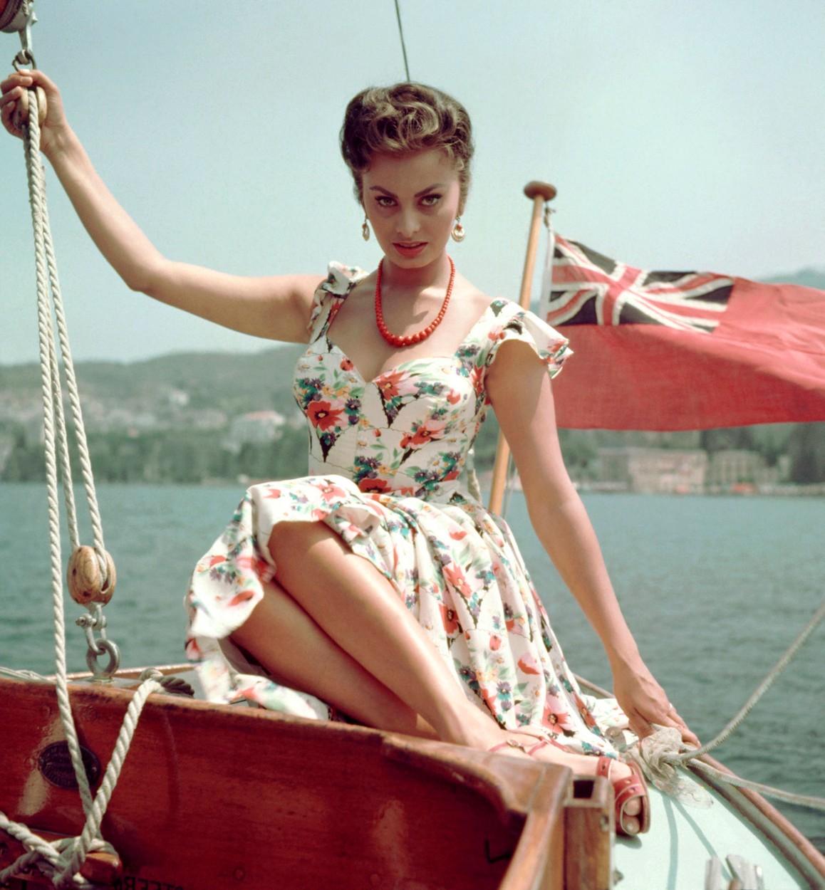 Sophia Loren *Filmstill - Editorial Use Only*,Image: 165805665, License: Rights-managed, Restrictions: *Filmstill - Editorial Use Only*, Model Release: no, Credit line: Image  Capital Pictur / Film Stills / Profimedia