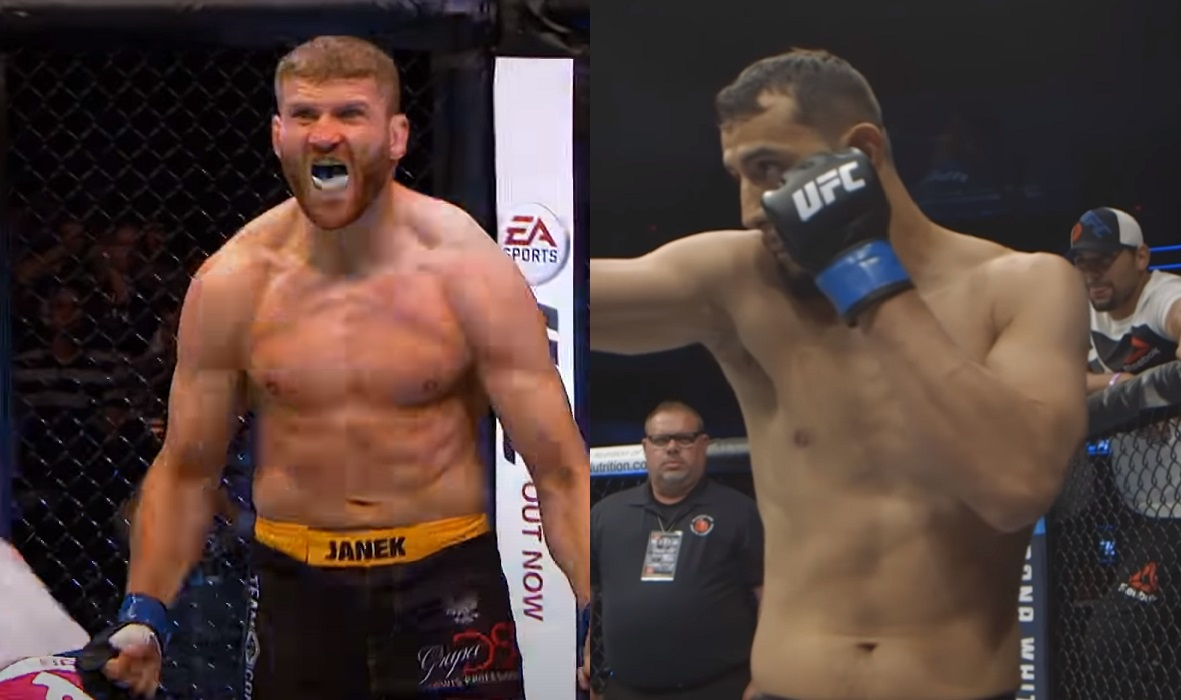 Jan Blachowicz i Dominick Reyes