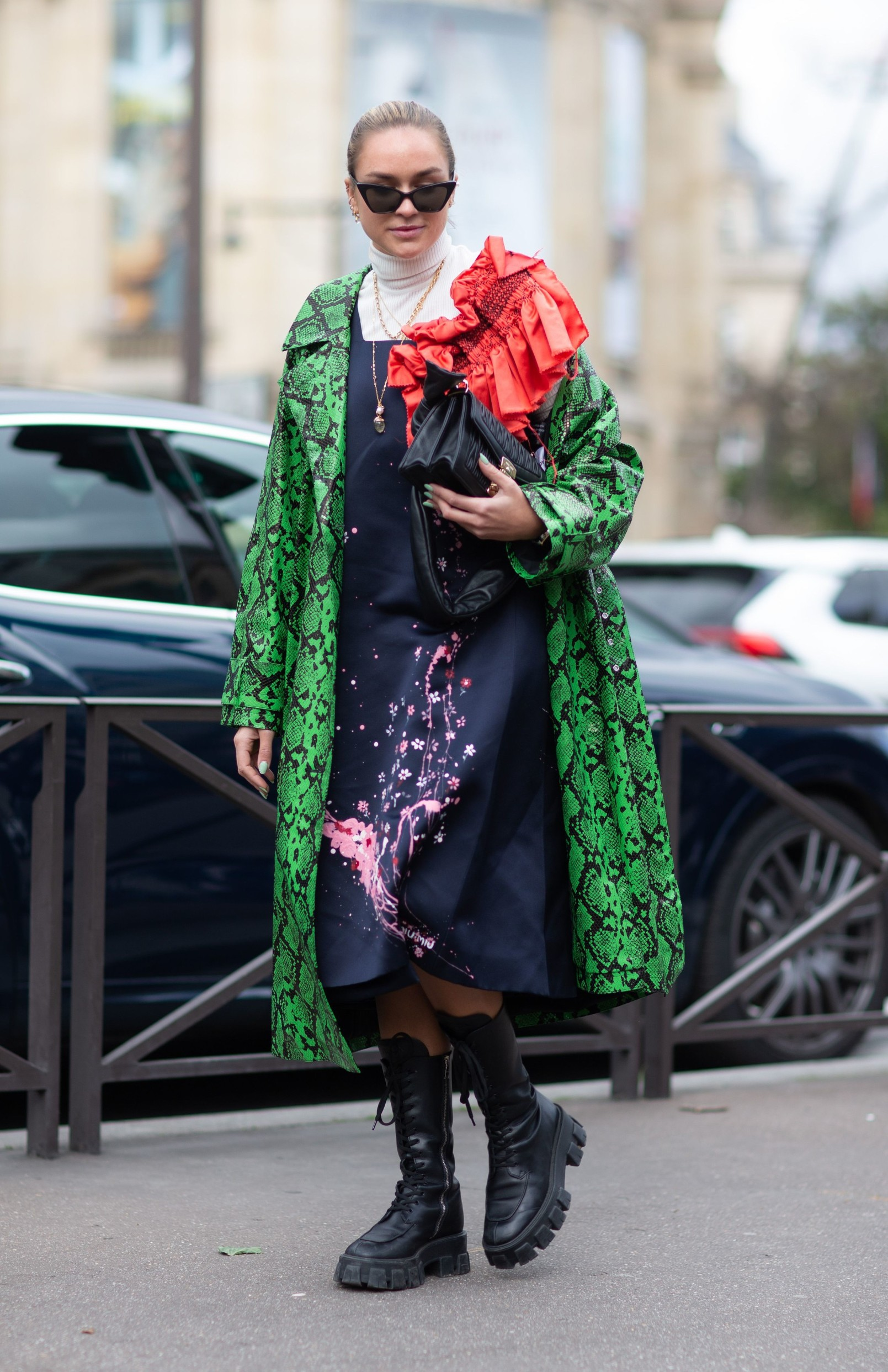 Street Style Street Style, Fall Winter 2020, Paris Fashion Week, France - 03 Mar 2020,Image: 506760126, License: Rights-managed, Restrictions: , Model Release: no, Credit line: Photoeventshd / Shutterstock Editorial / Profimedia