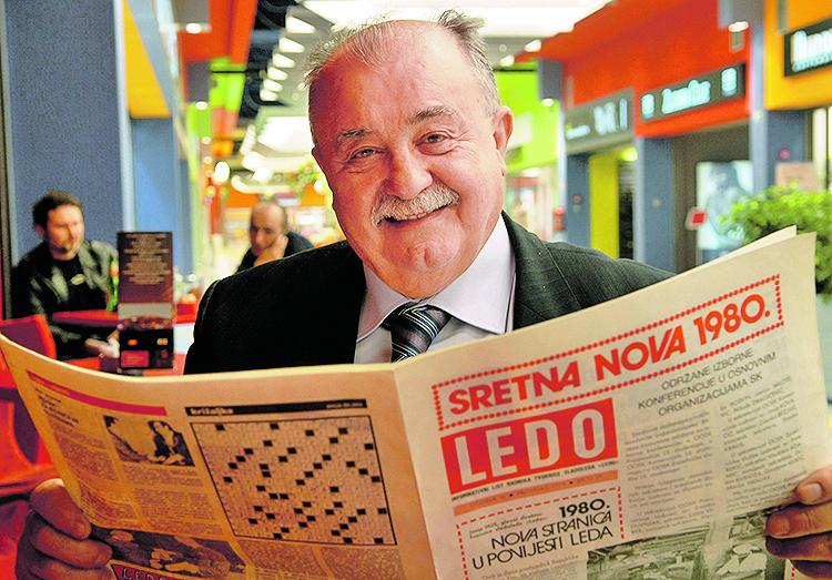 Zagreb, 170408. Ledo, Tvornica u ulici M. Cavica 9 postoji punih 50 godina. Dragutin Mamic, direktor marketinga u mirovini. Foto: Bruno Konjevic / CROPIX specijal jl