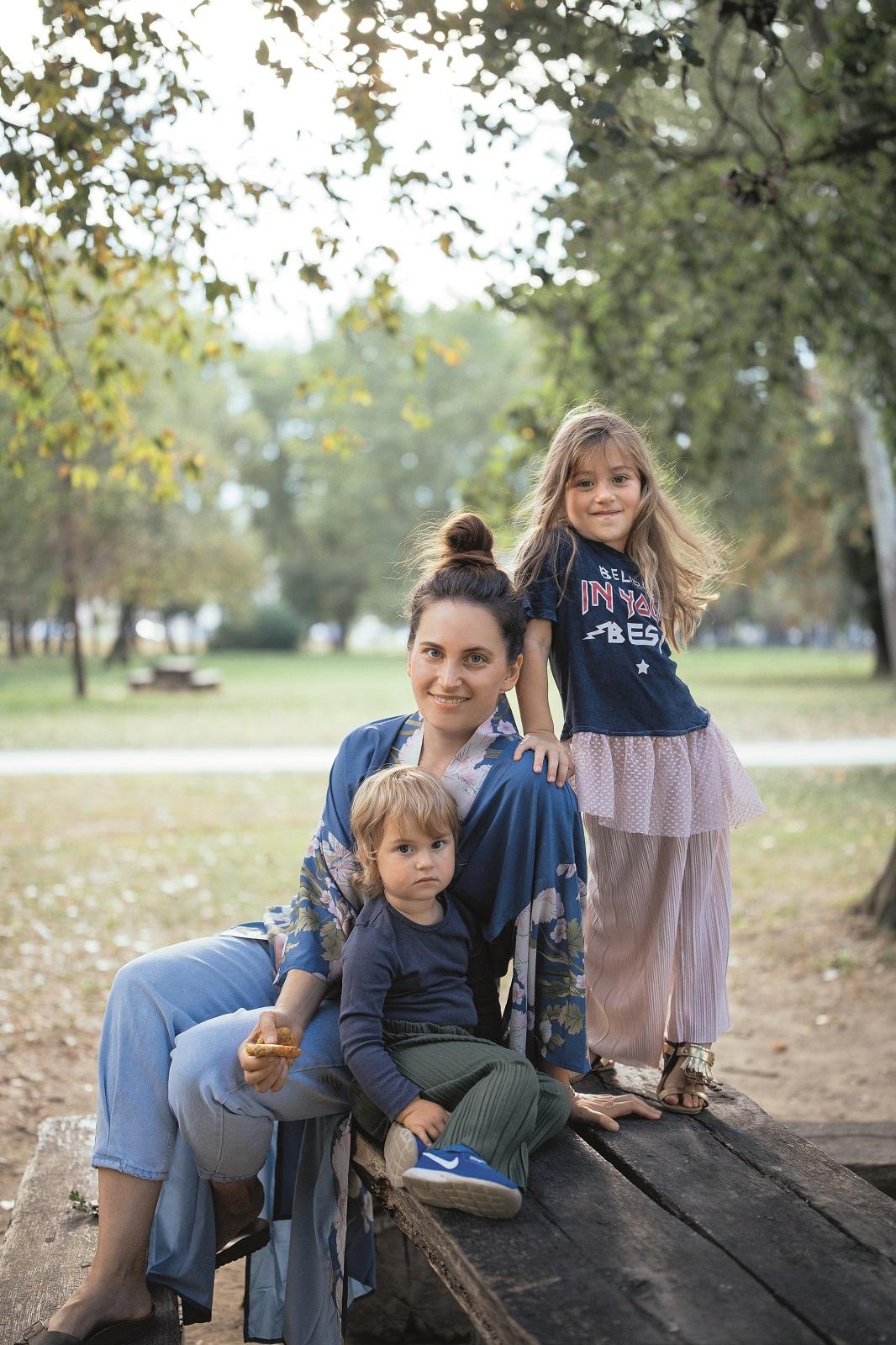 zagreb 22.09.2020 nastasja mama i kcerke gaia i mala reia petric foto vedran peteh