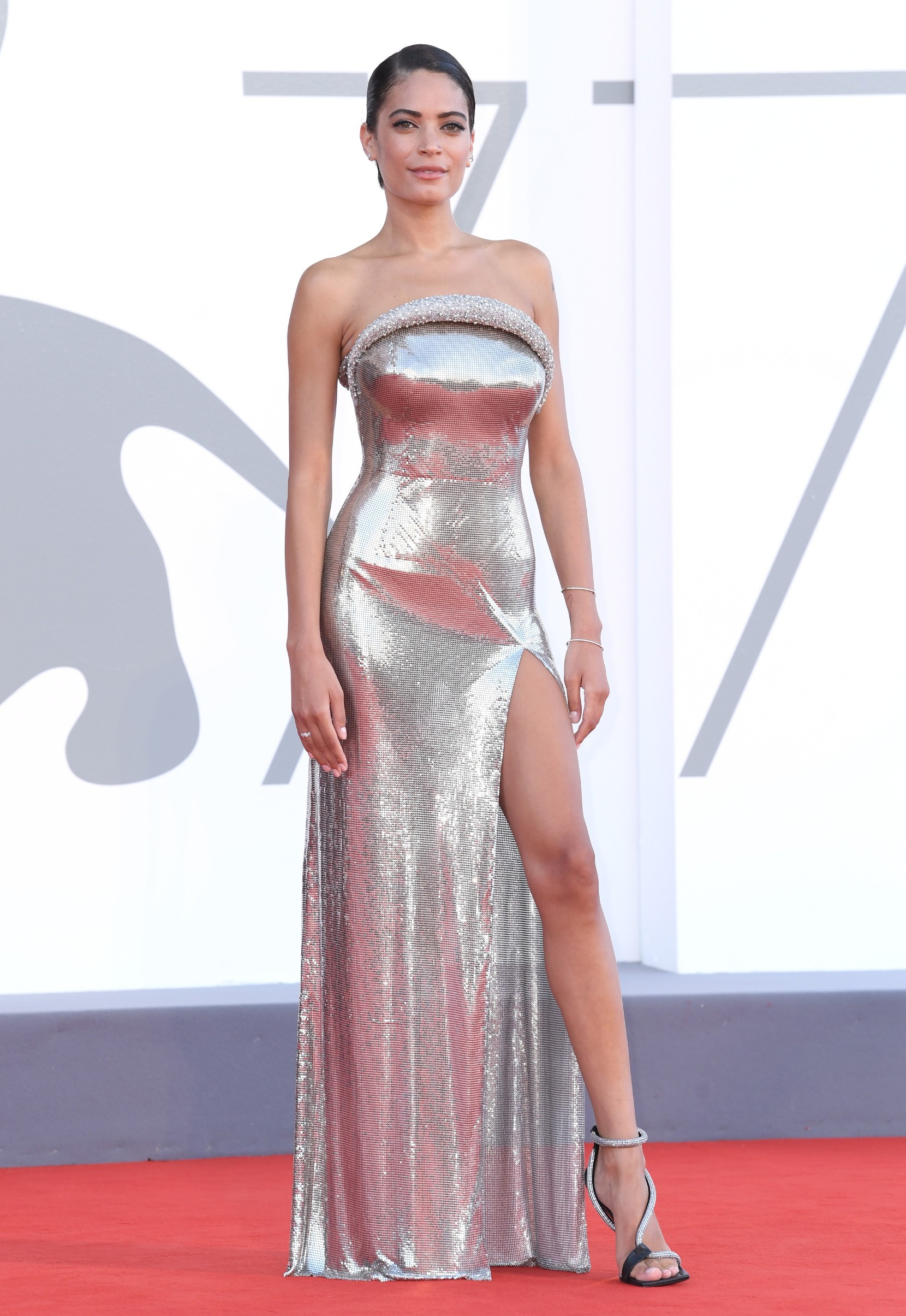 Elodie 'The Ties' premiere and Golden Lion for Lifetime Achievement Ceremony, 77th Venice International Film Festival, Italy - 02 Sep 2020,Image: 555937570, License: Rights-managed, Restrictions: , Model Release: no, Credit line: David Fisher / Shutterstock Editorial / Profimedia