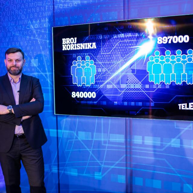 Viktor Pavlinić, predsjednik Uprave Tele2 Hrvatska