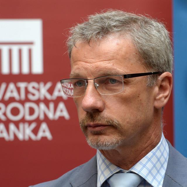 Governor of the Croatian National Bank Boris Vujcic