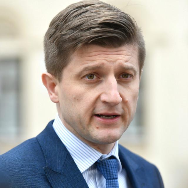 Finance Minister Zdravko Maric