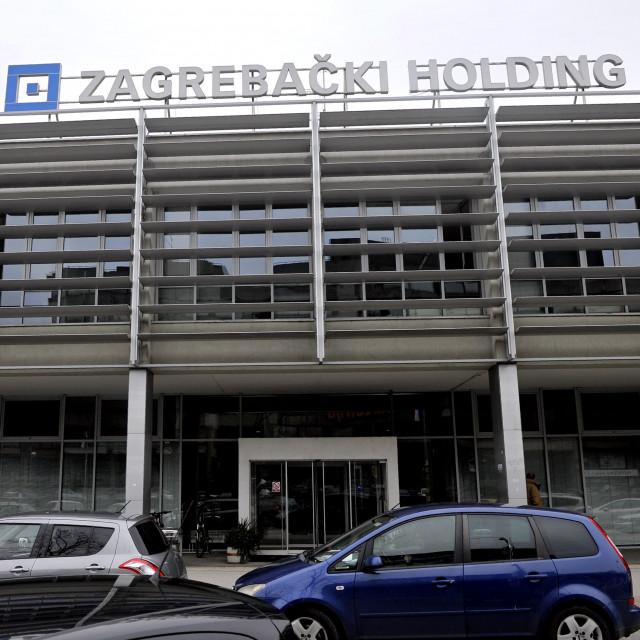 Zagrebački holding, zgrada
