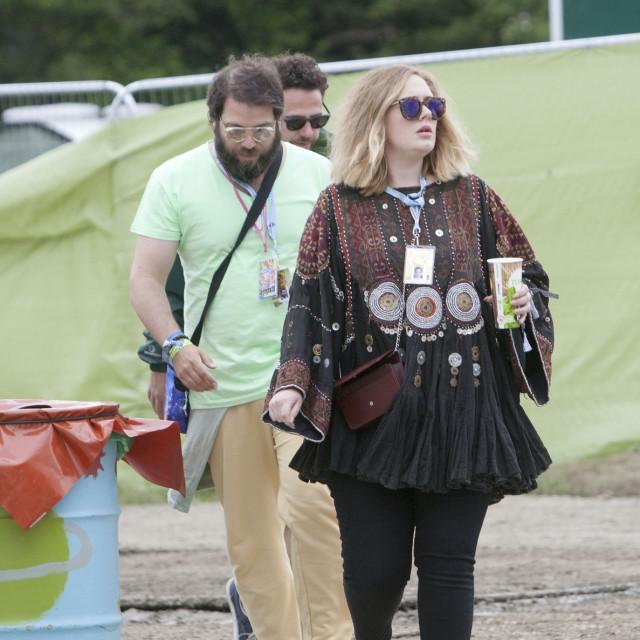 Adele i bivši muž Simon Konecki tijekom sretnijih dana