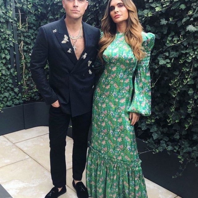 Robbie Williams i Ayda Field