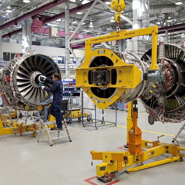 Tvornica Rolls-Roycea, motori za Airbus A320